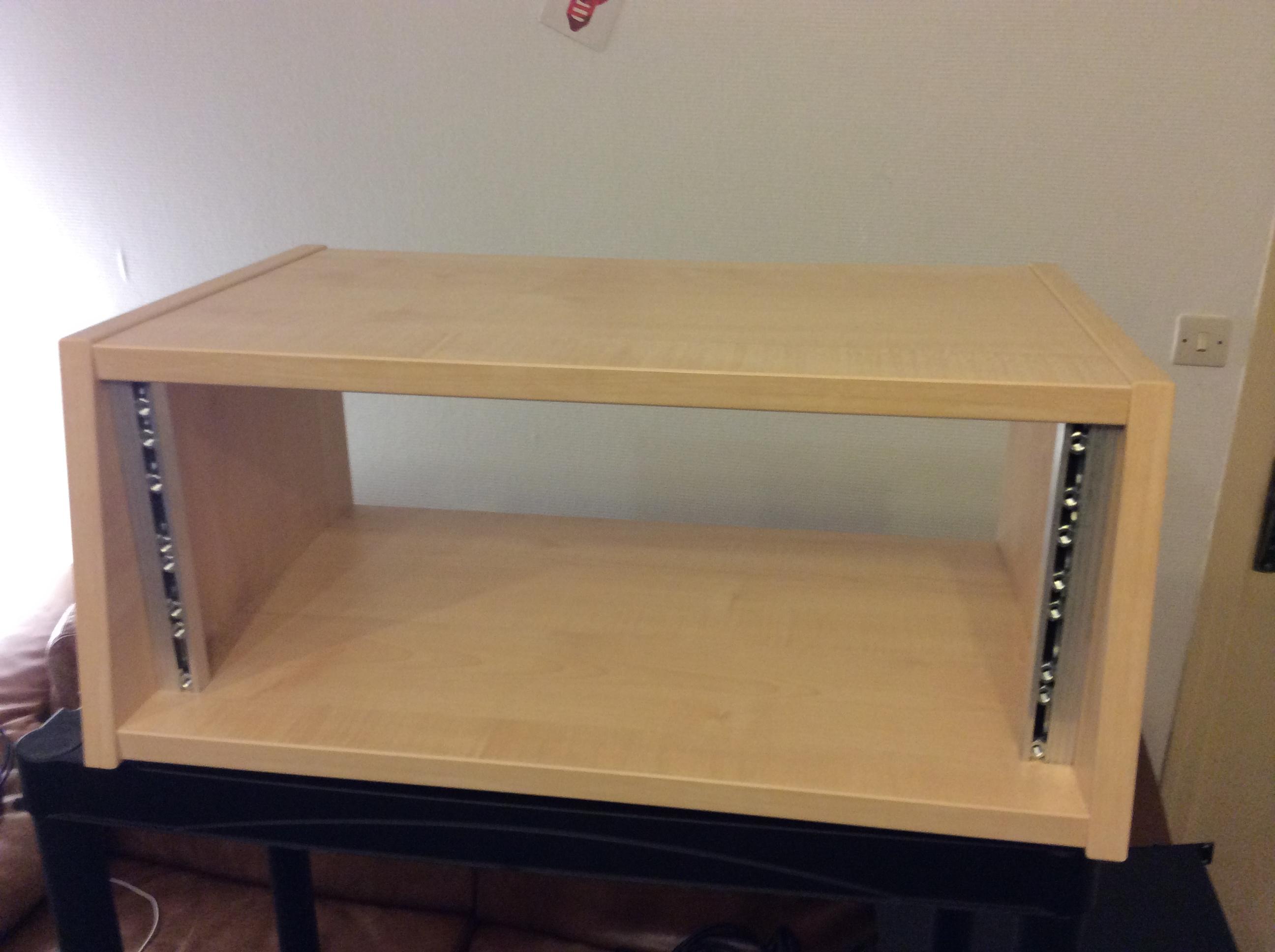 Studio Rack Desk - Diy Projects