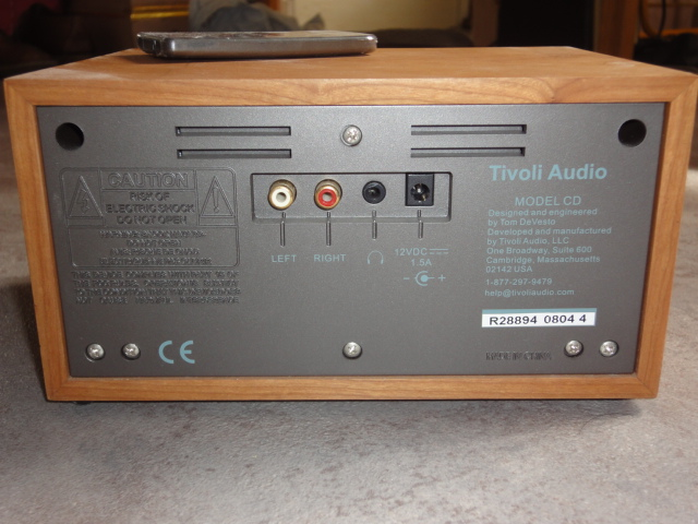 A play m 121259 on tivoli audio model cd player