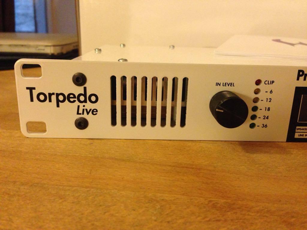 two notes audio engineering torpedo live image 2068208 audiofanzine. Black Bedroom Furniture Sets. Home Design Ideas