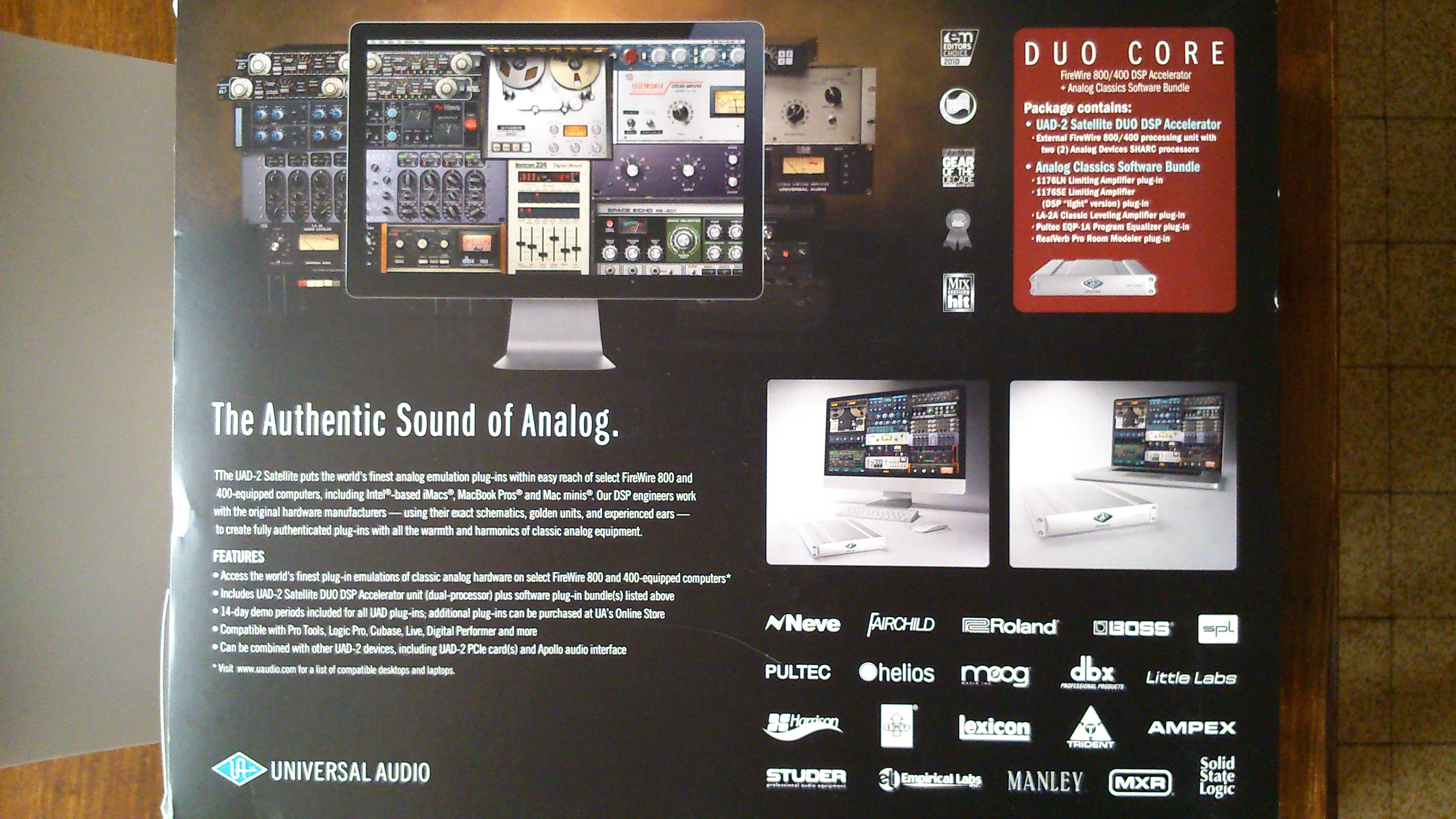 Pictures and images Universal Audio UAD-2 Satellite Duo