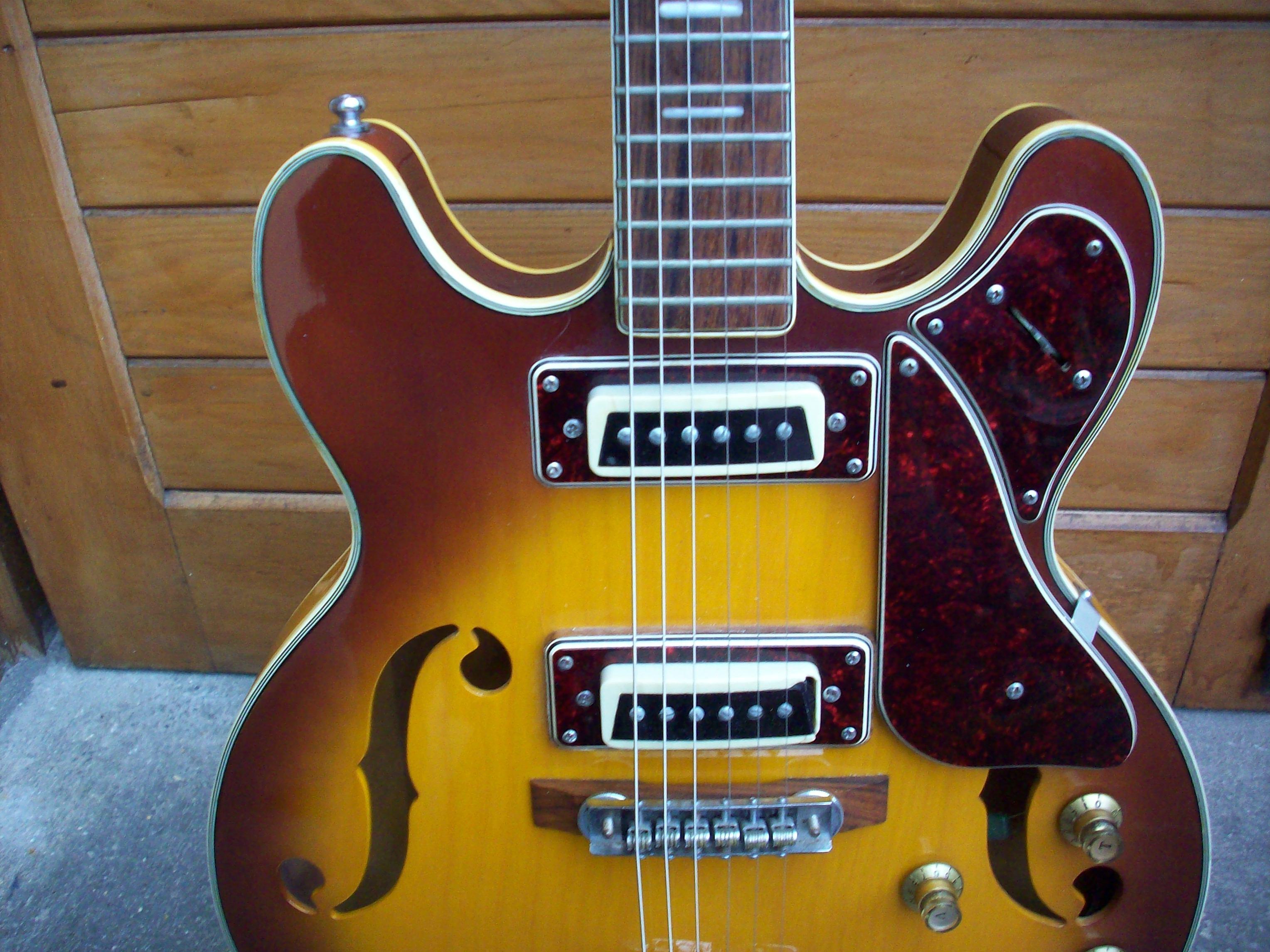 Univox guitar pickups