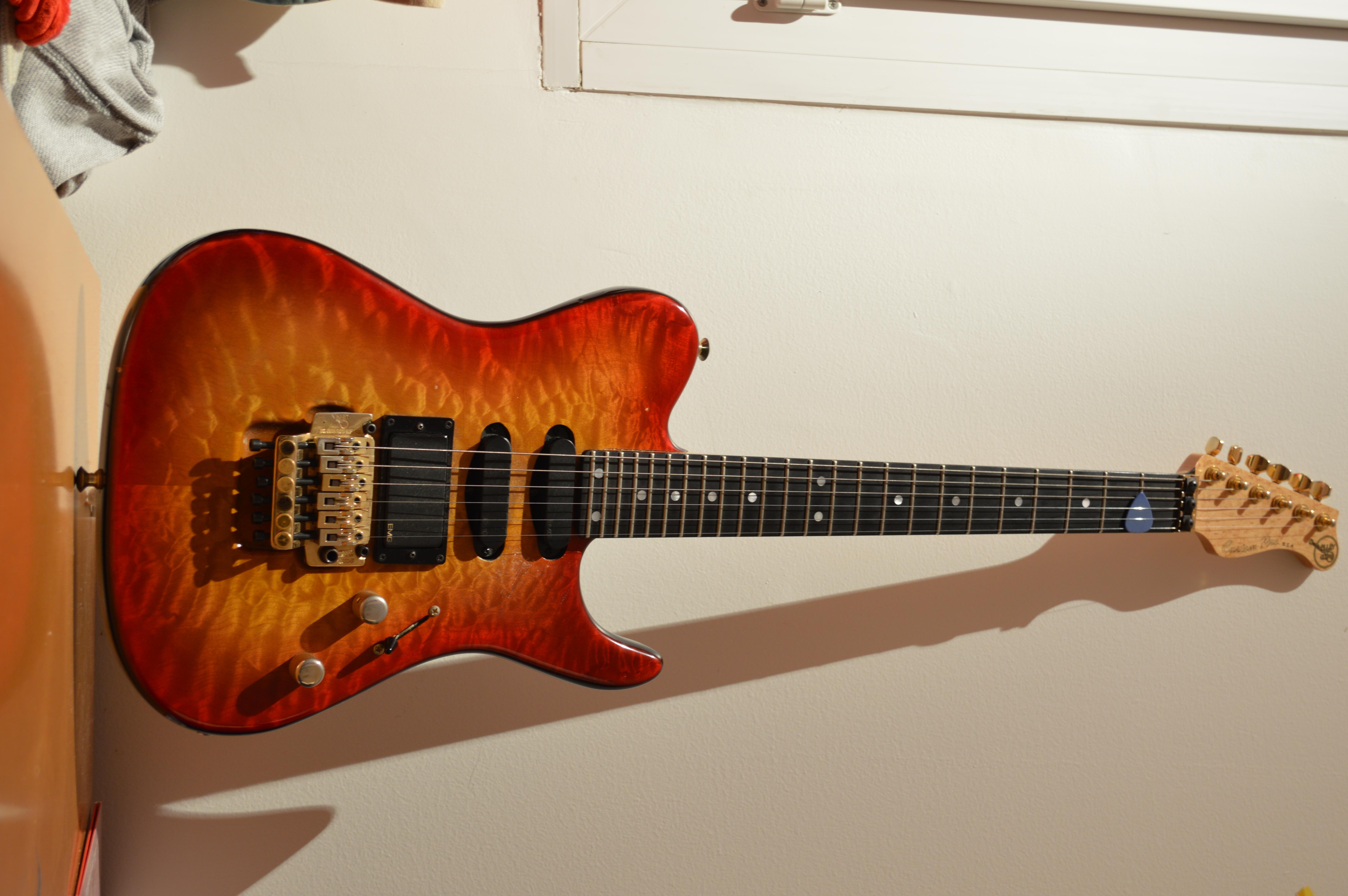 valley arts guitars custom pro image 695562 audiofanzine. Black Bedroom Furniture Sets. Home Design Ideas