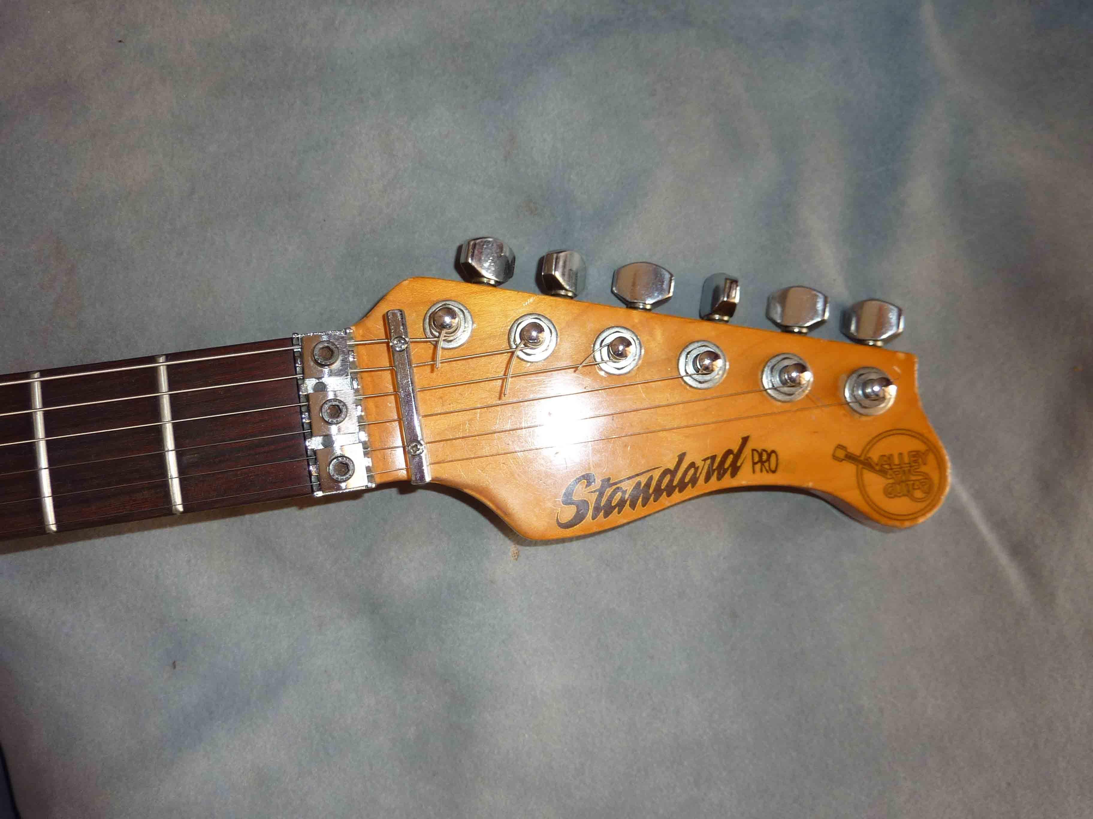 valley arts guitars standard pro image 84282 audiofanzine. Black Bedroom Furniture Sets. Home Design Ideas