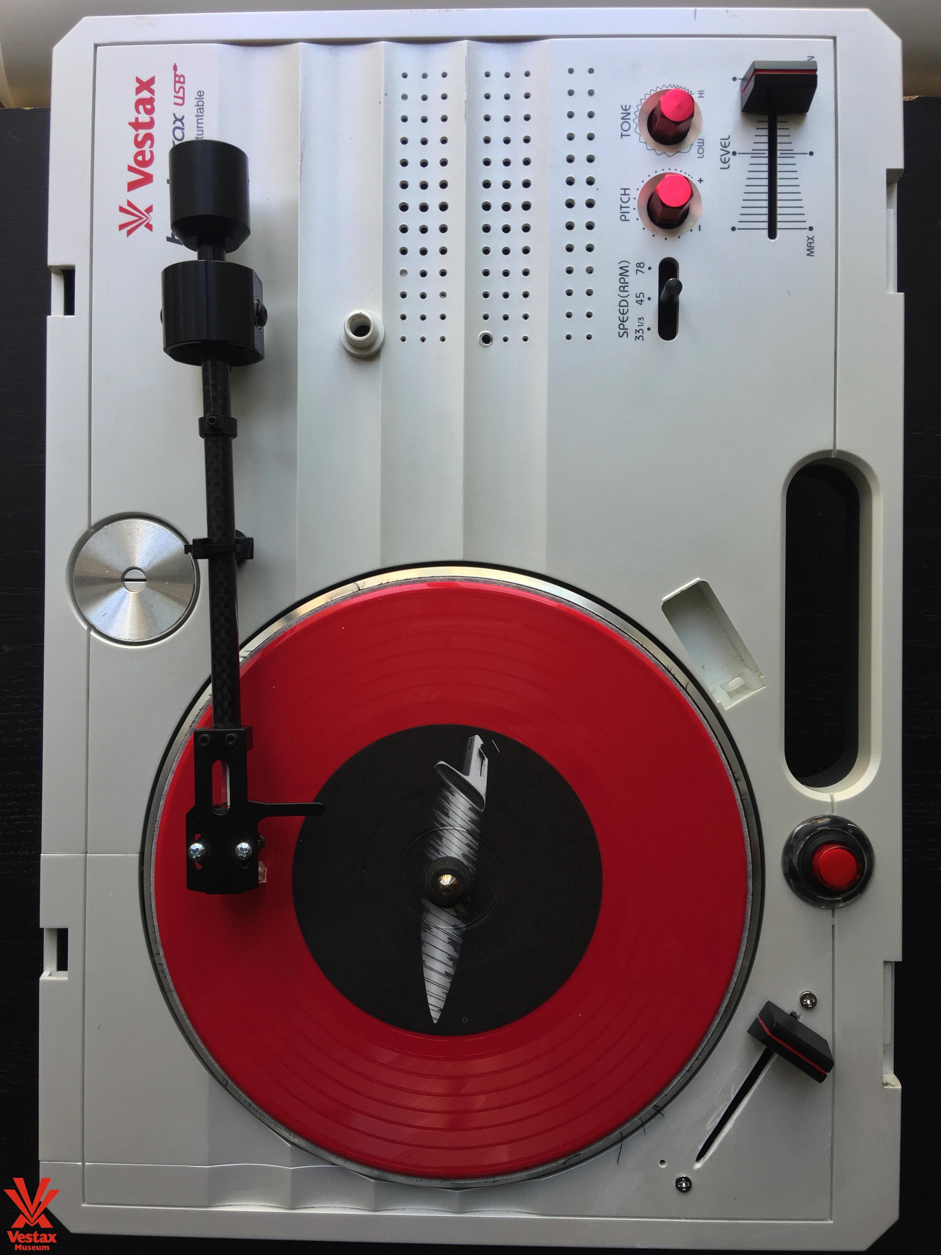 Vestax Handy Trax USB Tragbarer Minidisc Player grau Mini-Laufwerke und Recorder 370 x 260 x 97 mm, 2 kg, grau