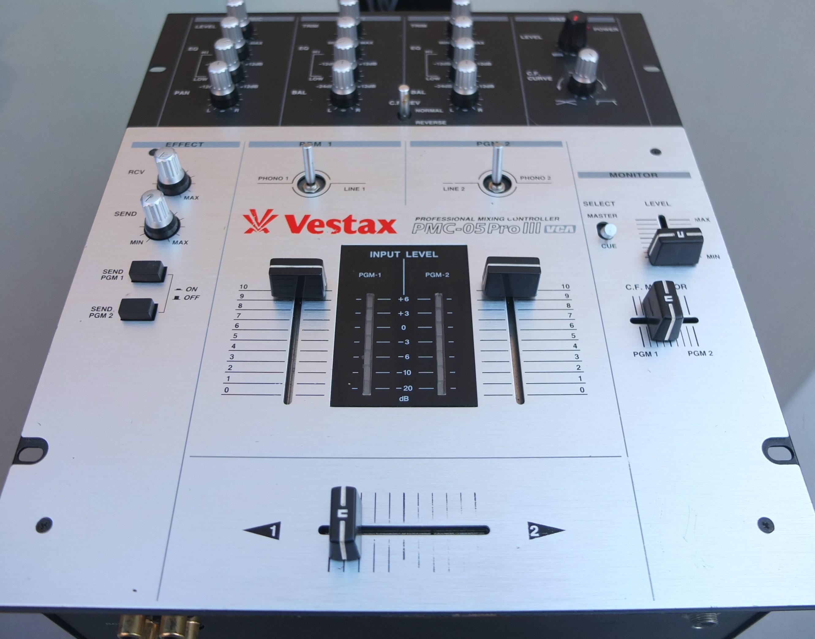 table de mixage vestax pmc 05 pro 3