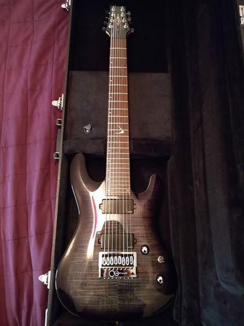 guitare 8 cordes a vendre