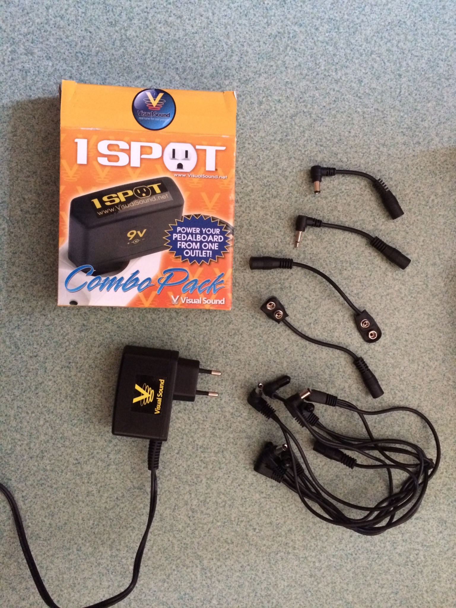 1 Spot Multi Plug 8 Cable