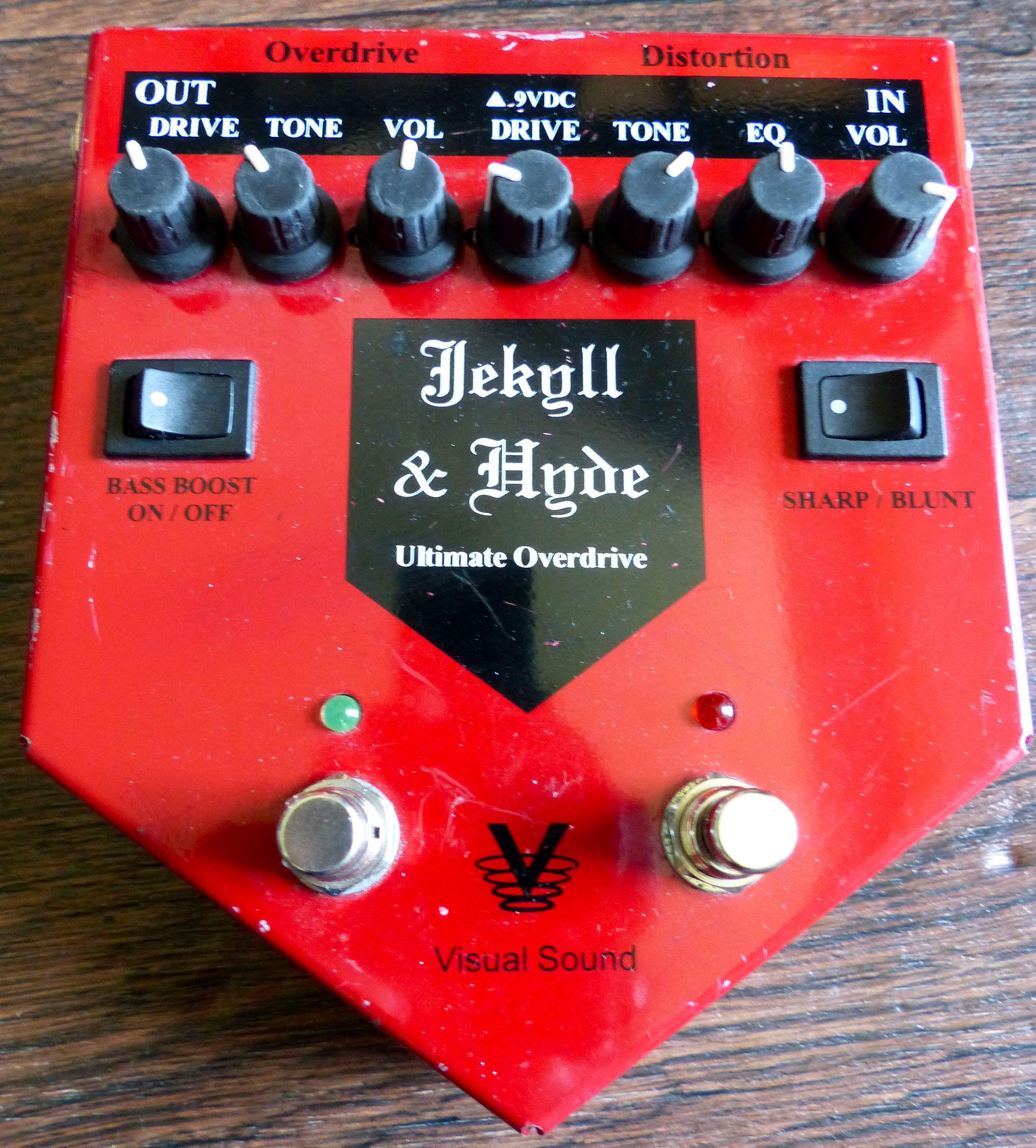 visual sound jekyll and hyde v1 manual