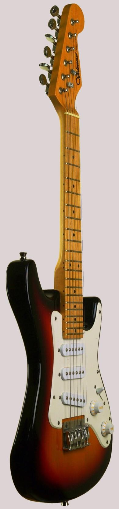 Volcano rock-a-teer mini guitar strat guitalele at Ukulele Corner