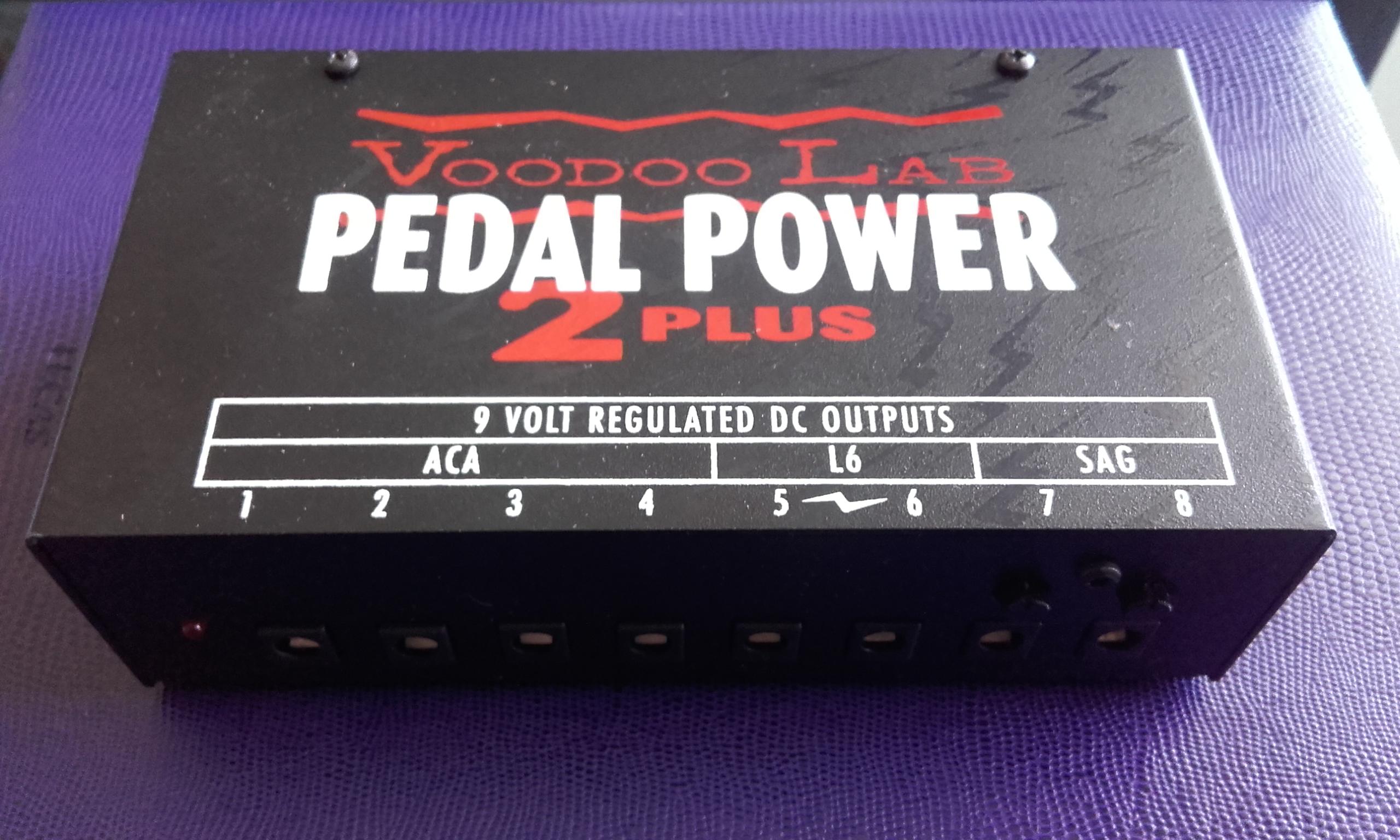 voodoo lab pedal power 2 image 1390761 audiofanzine. Black Bedroom Furniture Sets. Home Design Ideas