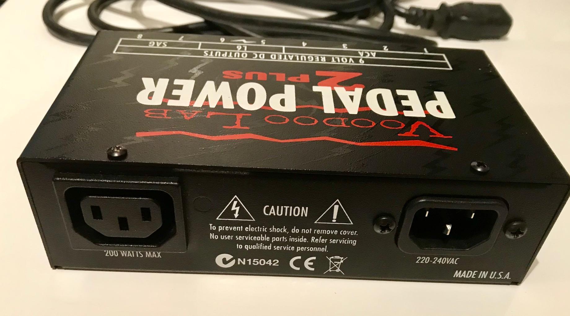 voodoo pedal power 2 plus manual