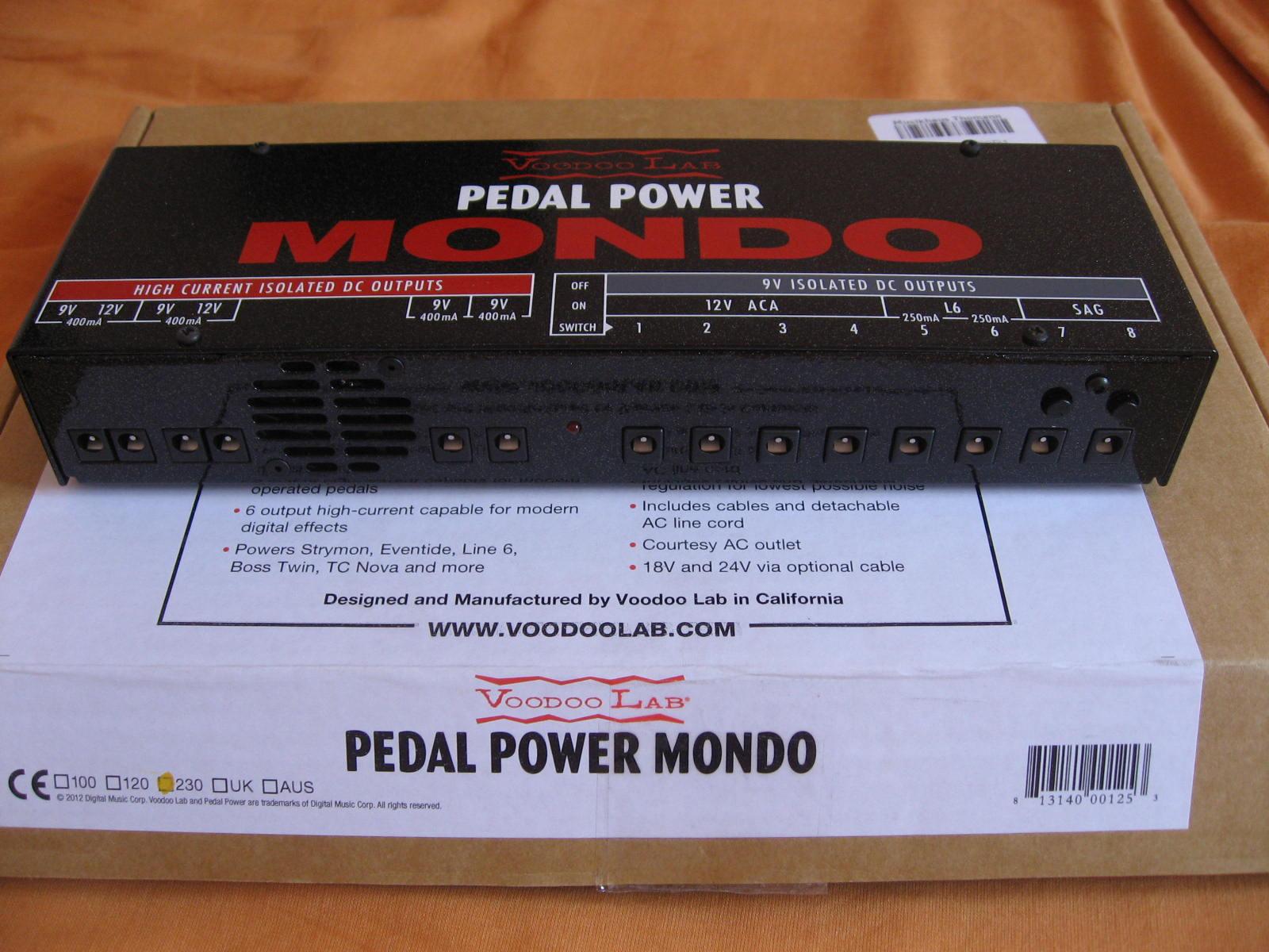 Pedal Power Mondo : voodoo lab pedal power mondo image 640692 audiofanzine ~ Vivirlamusica.com Haus und Dekorationen