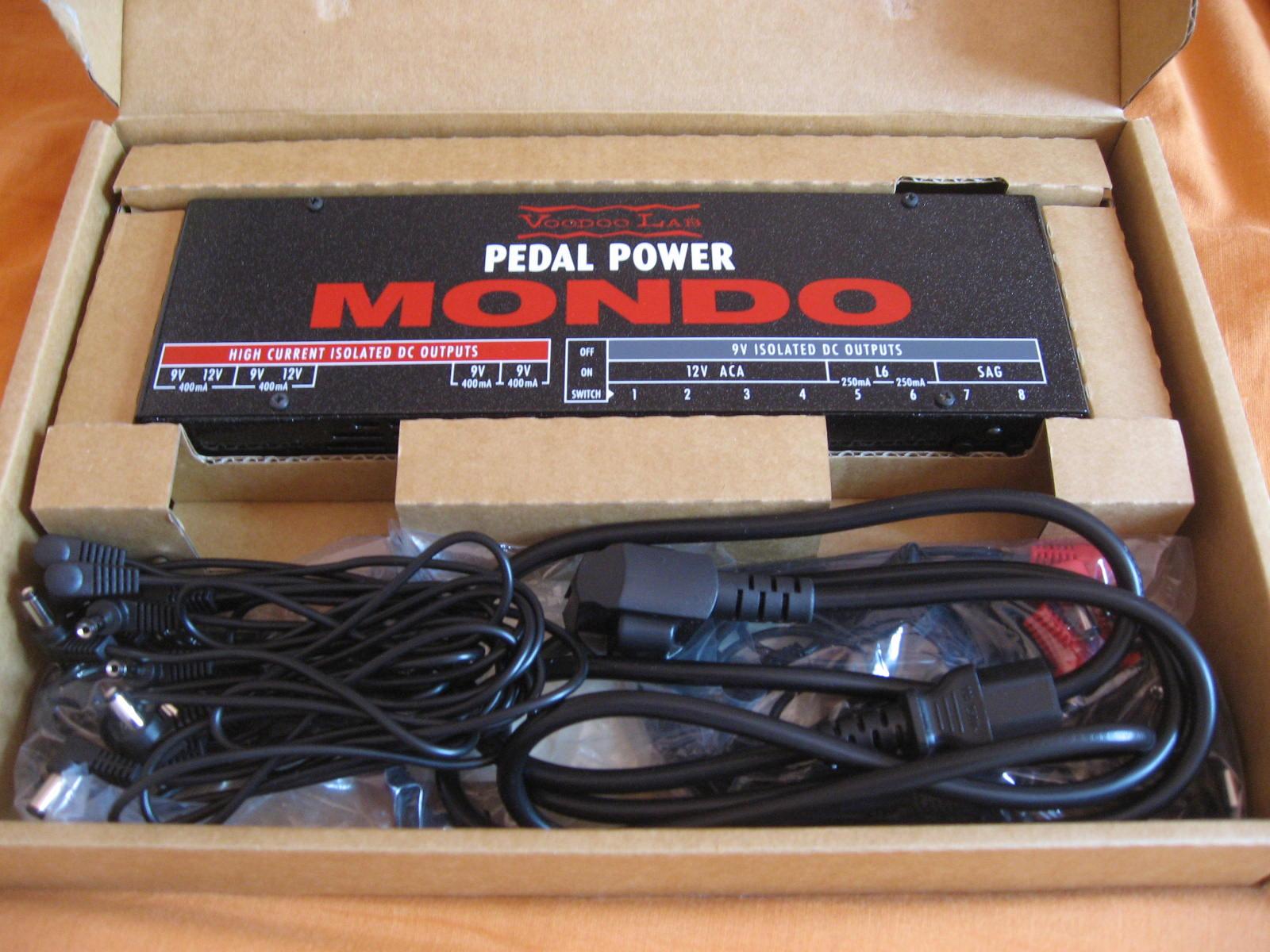 voodoo lab pedal power mondo image 640695 audiofanzine. Black Bedroom Furniture Sets. Home Design Ideas
