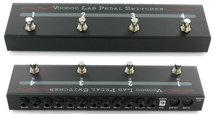 Voodoo Lab PX-8 Plus 8-loop Pedal Switcher   Sweetwater