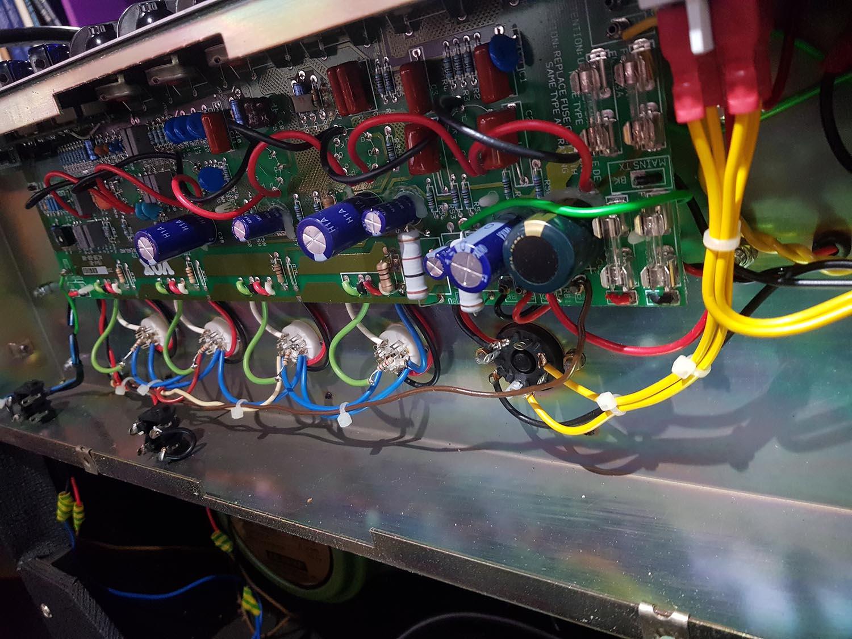 Vends Vox Ac 30 6 Tb Tremolo Vibrato De 2001 Made In Uk Le Ac30 Wiring 24828