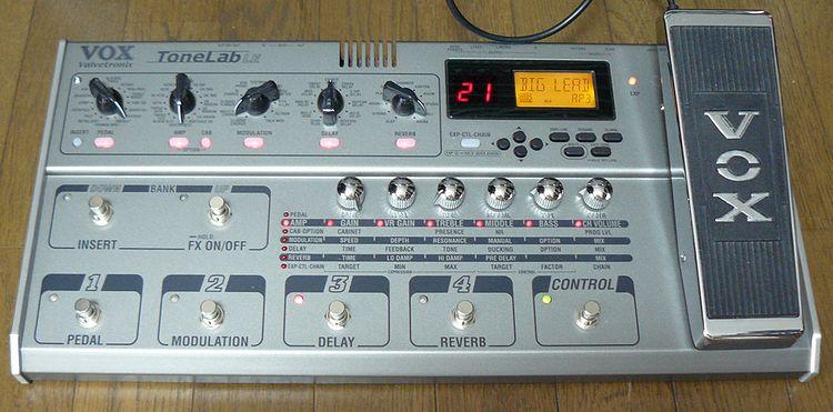 Hacking multi-fx guitar pedals -vox tonelab st mod teardown youtube.