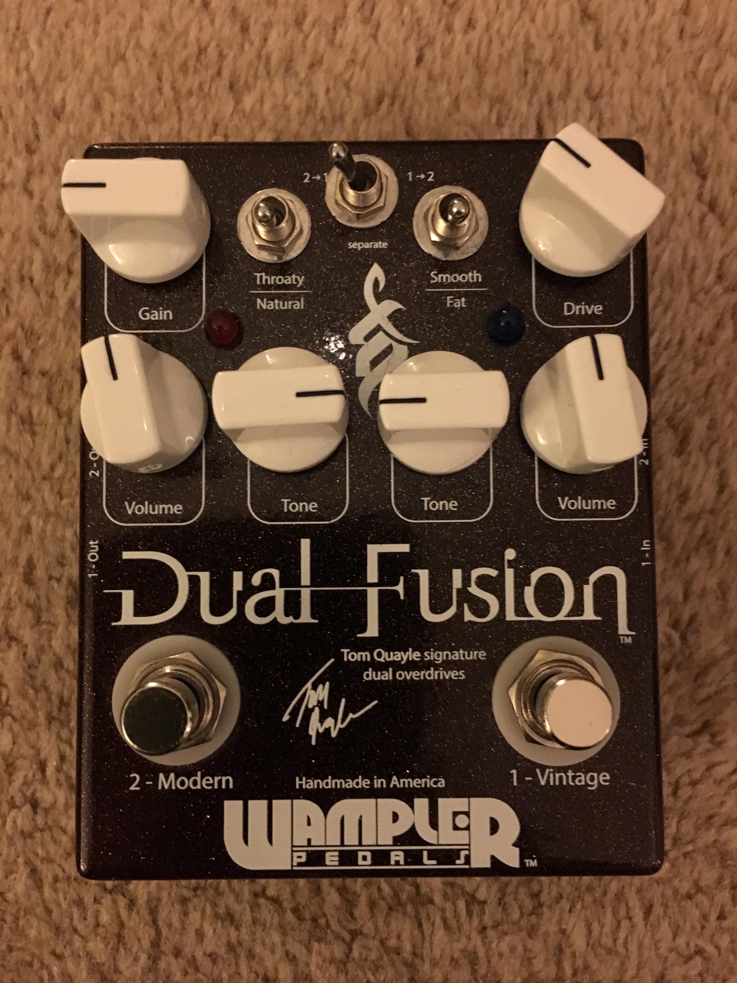 photo wampler pedals dual fusion wampler pedals dual fusion 15152 1606214 audiofanzine. Black Bedroom Furniture Sets. Home Design Ideas