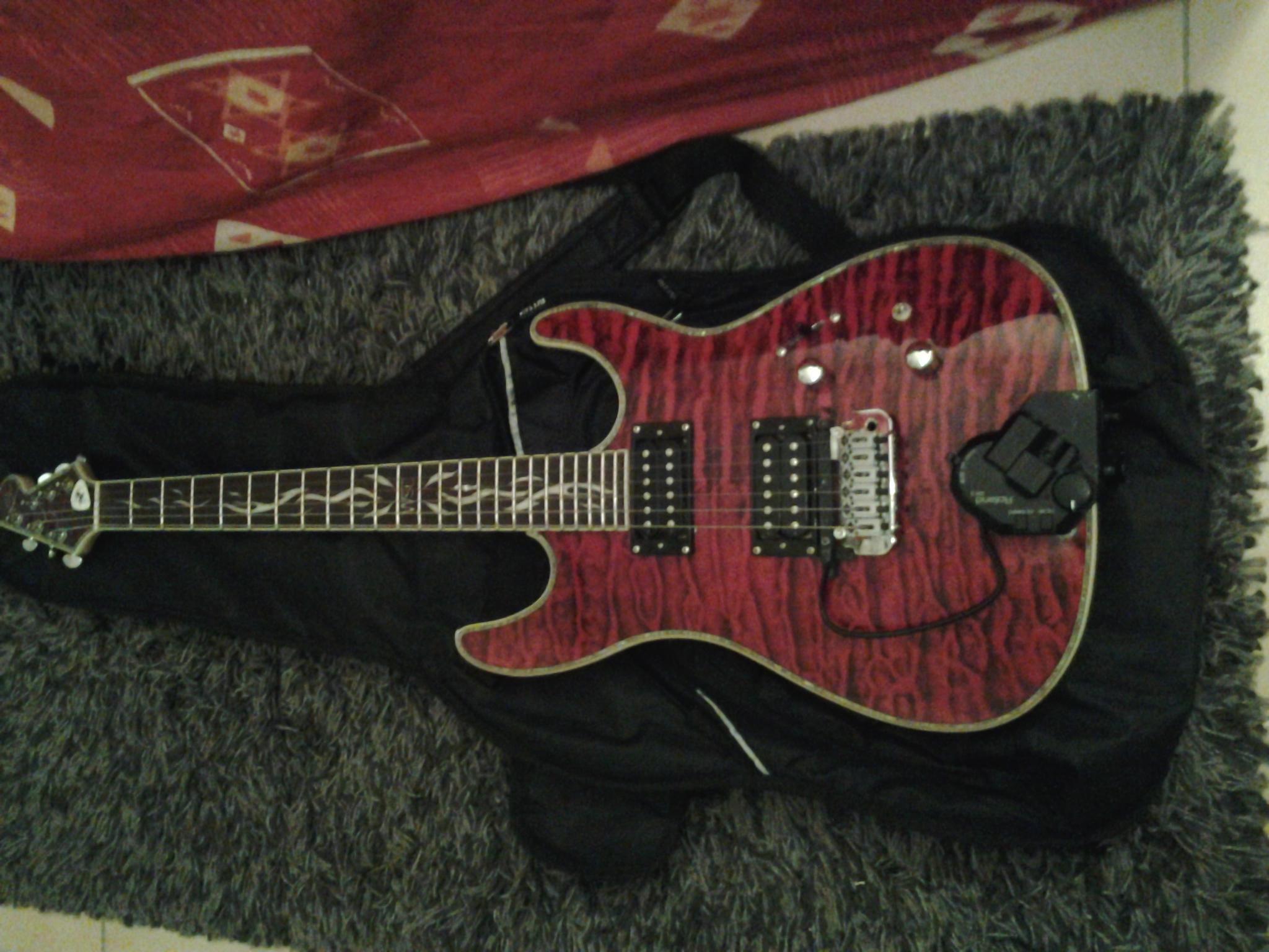 guitare electrique wsl