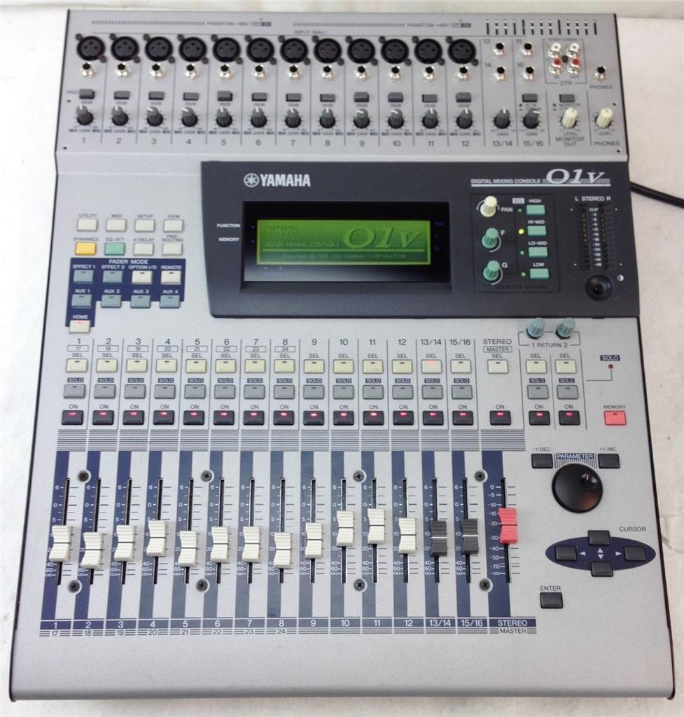 yamaha 01v image 968189 audiofanzine rh en audiofanzine com Yamaha O2R Yamaha O1V96