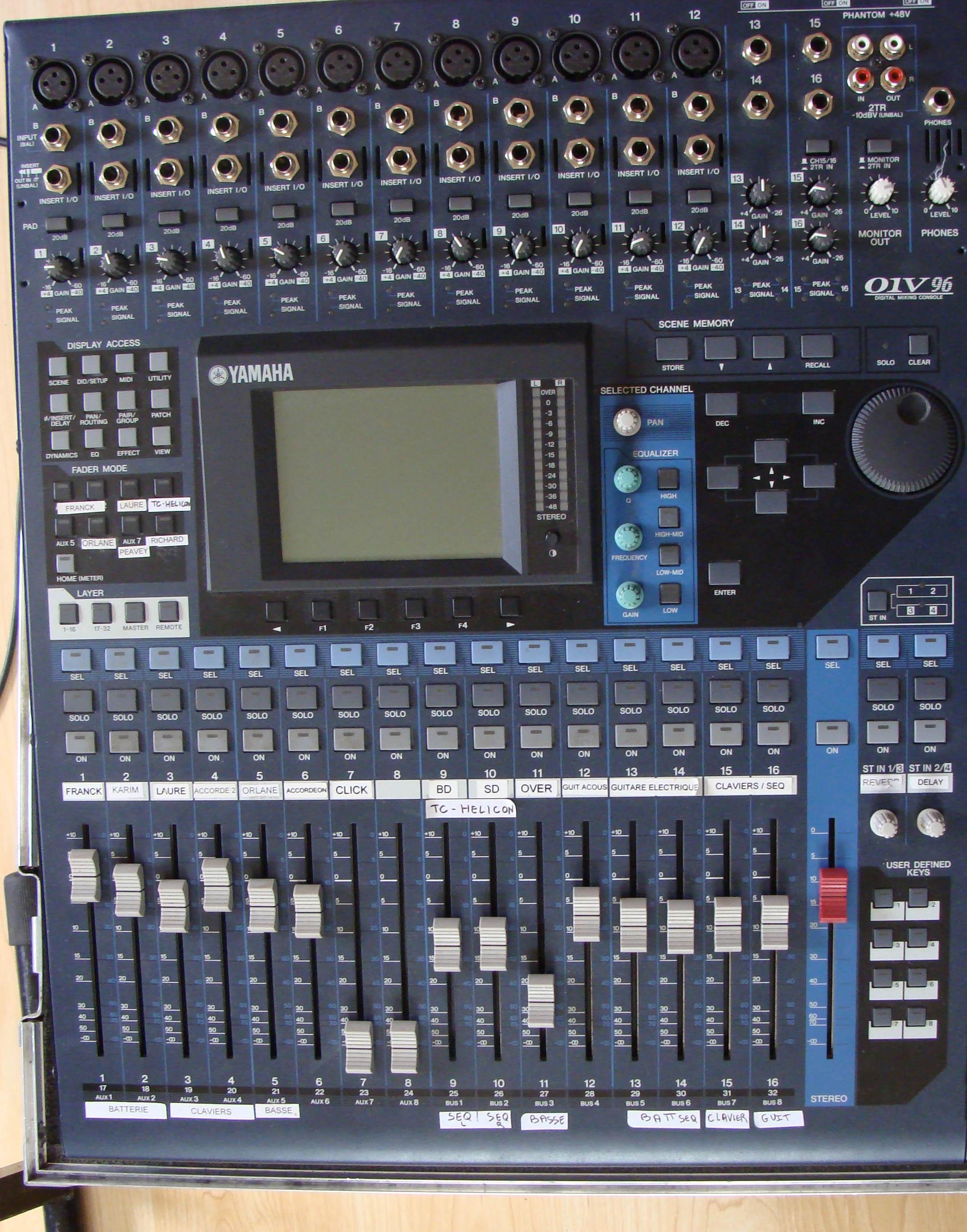 Yamaha 01v Digital Mixer Software : yamaha o1v96 driver for windows 7 ~ Vivirlamusica.com Haus und Dekorationen