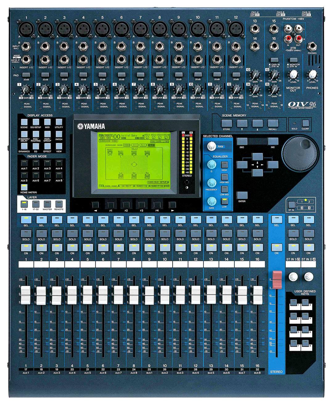 Yamaha 01v96 V2 Image 761492 Audiofanzine