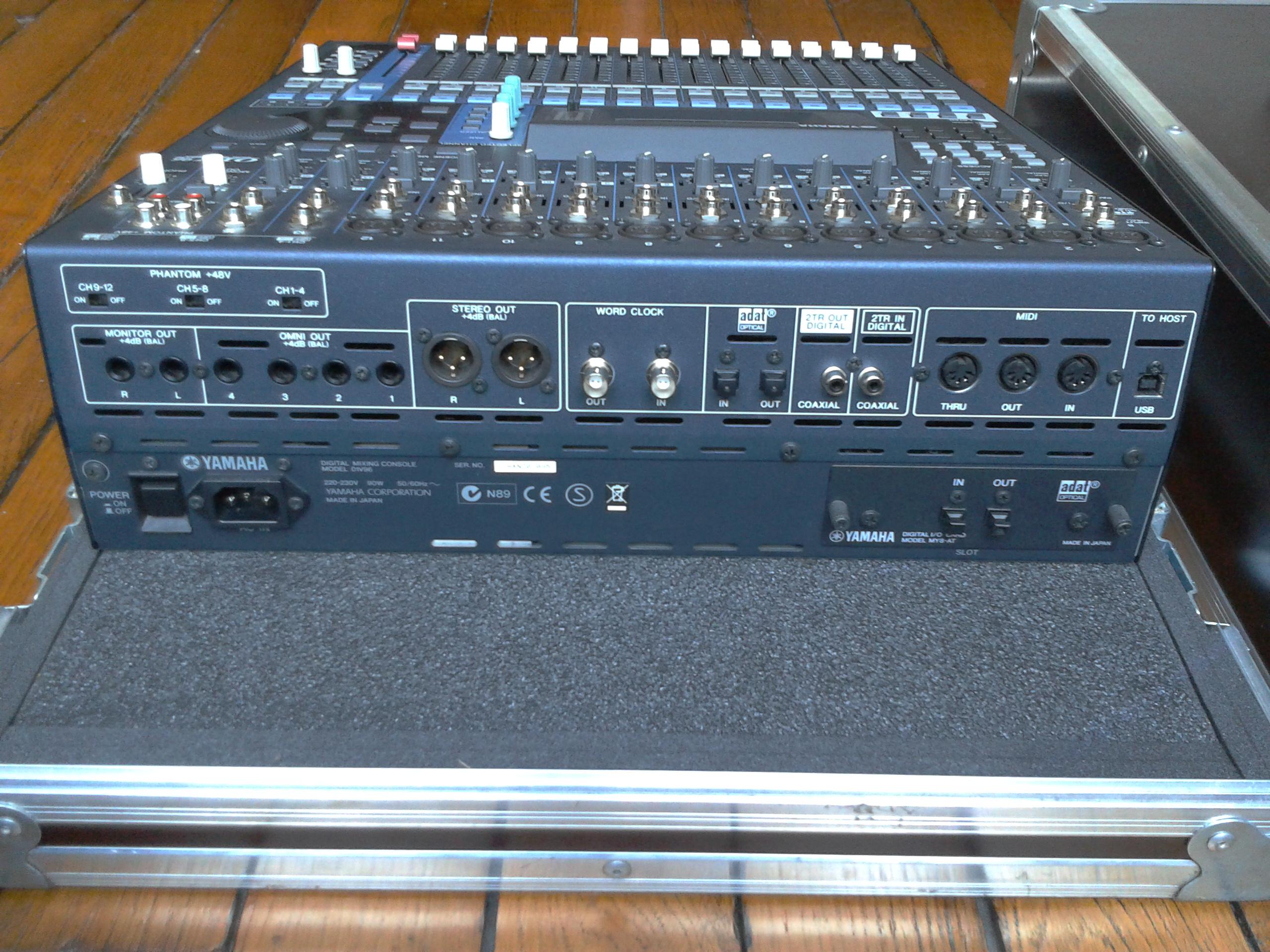 Yamaha 01v96 Vcm Image   705793