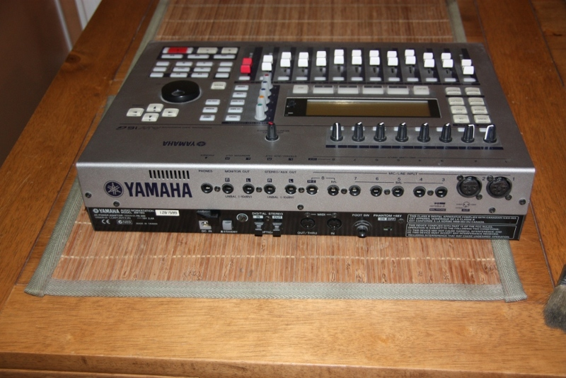 Yamaha aw16g image 128443 audiofanzine for Yamaha ysp 5600 manual