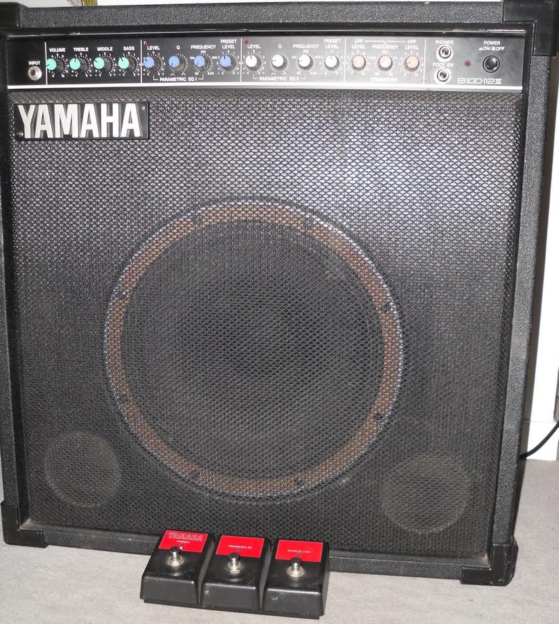 Yamaha b100 112 image 854643 audiofanzine for Yamaha bass guitar amplifier