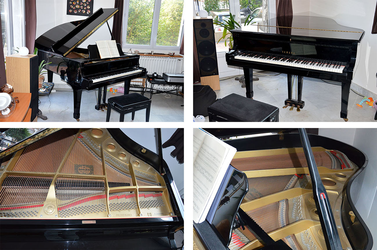 photo yamaha c3 yamaha conservatory c3 925395 audiofanzine. Black Bedroom Furniture Sets. Home Design Ideas