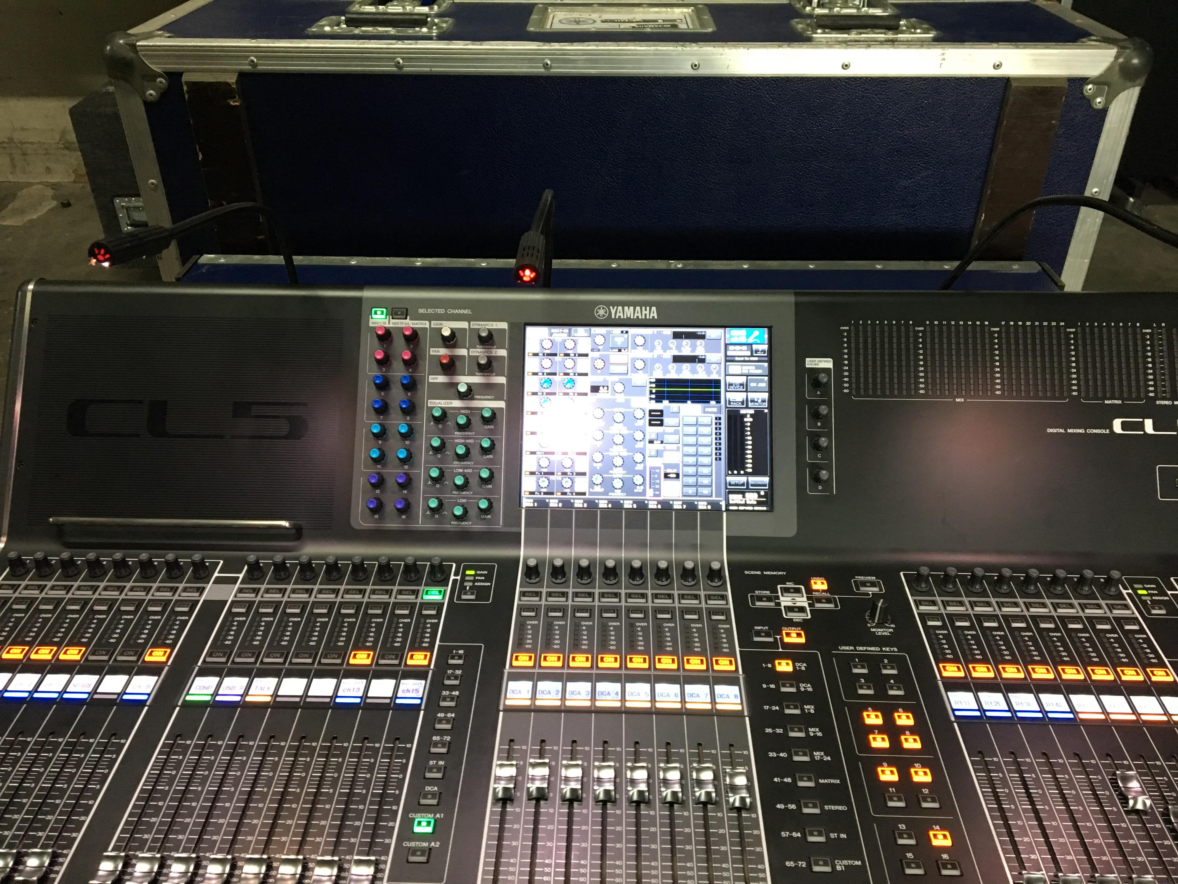 Yamaha cl5 image 1589656 audiofanzine for Yamaha cl mixer