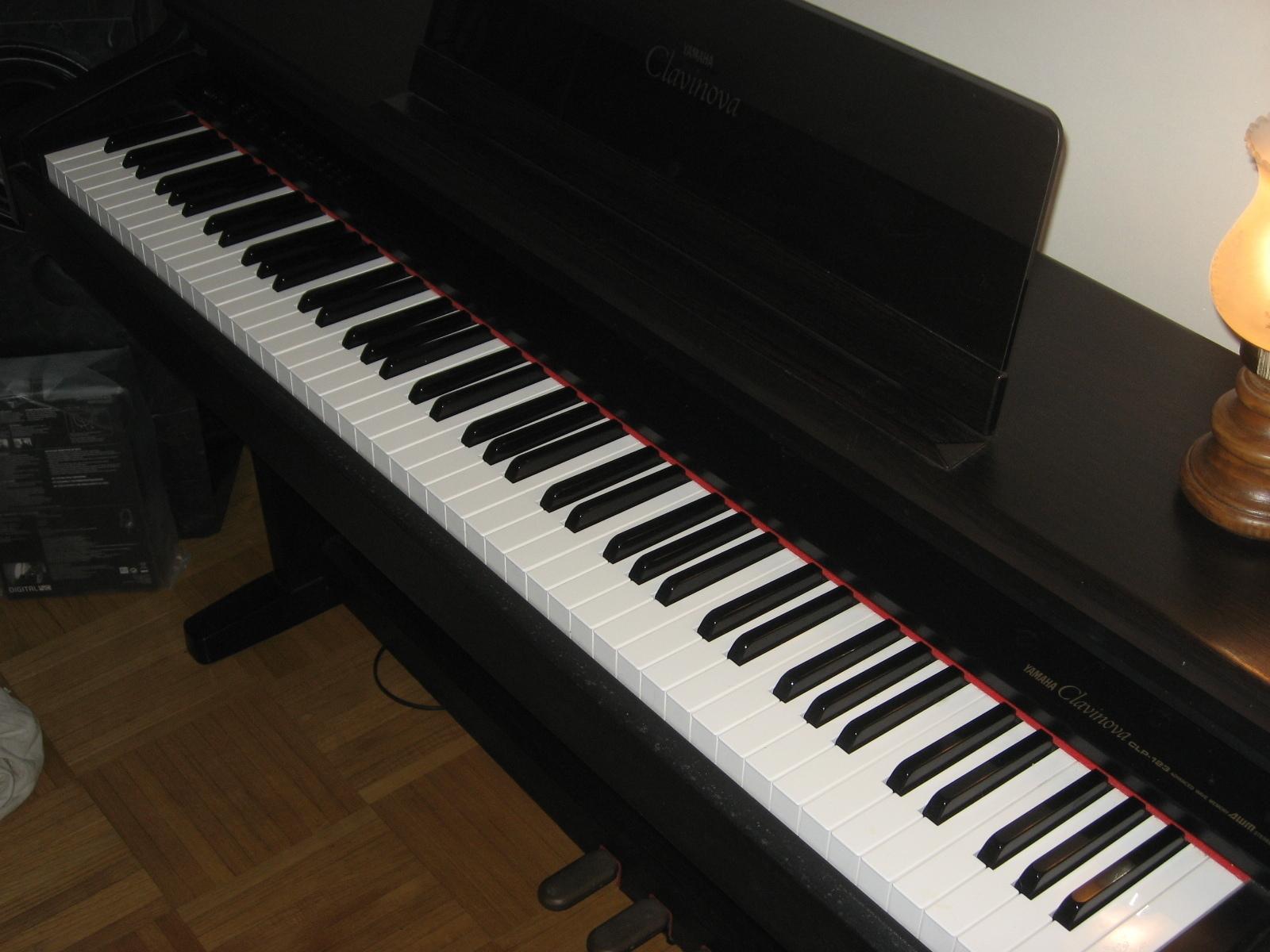 Photo yamaha clp 123 yamaha clavinova clp 123 199473 for Yamaha clavinova clp 500