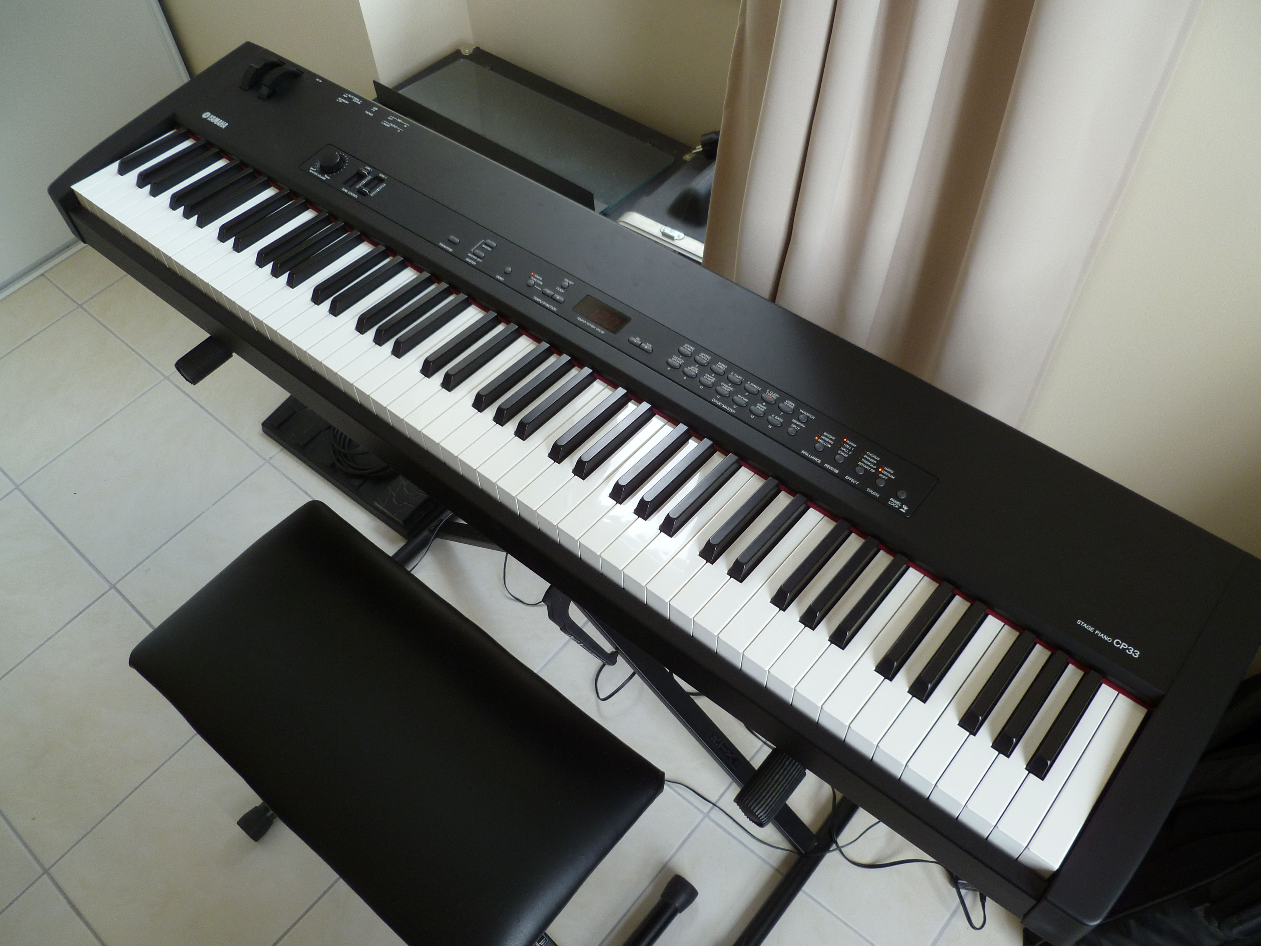 Photo yamaha cp33 yamaha cp33 42020 391857 for Yamaha m1 piano