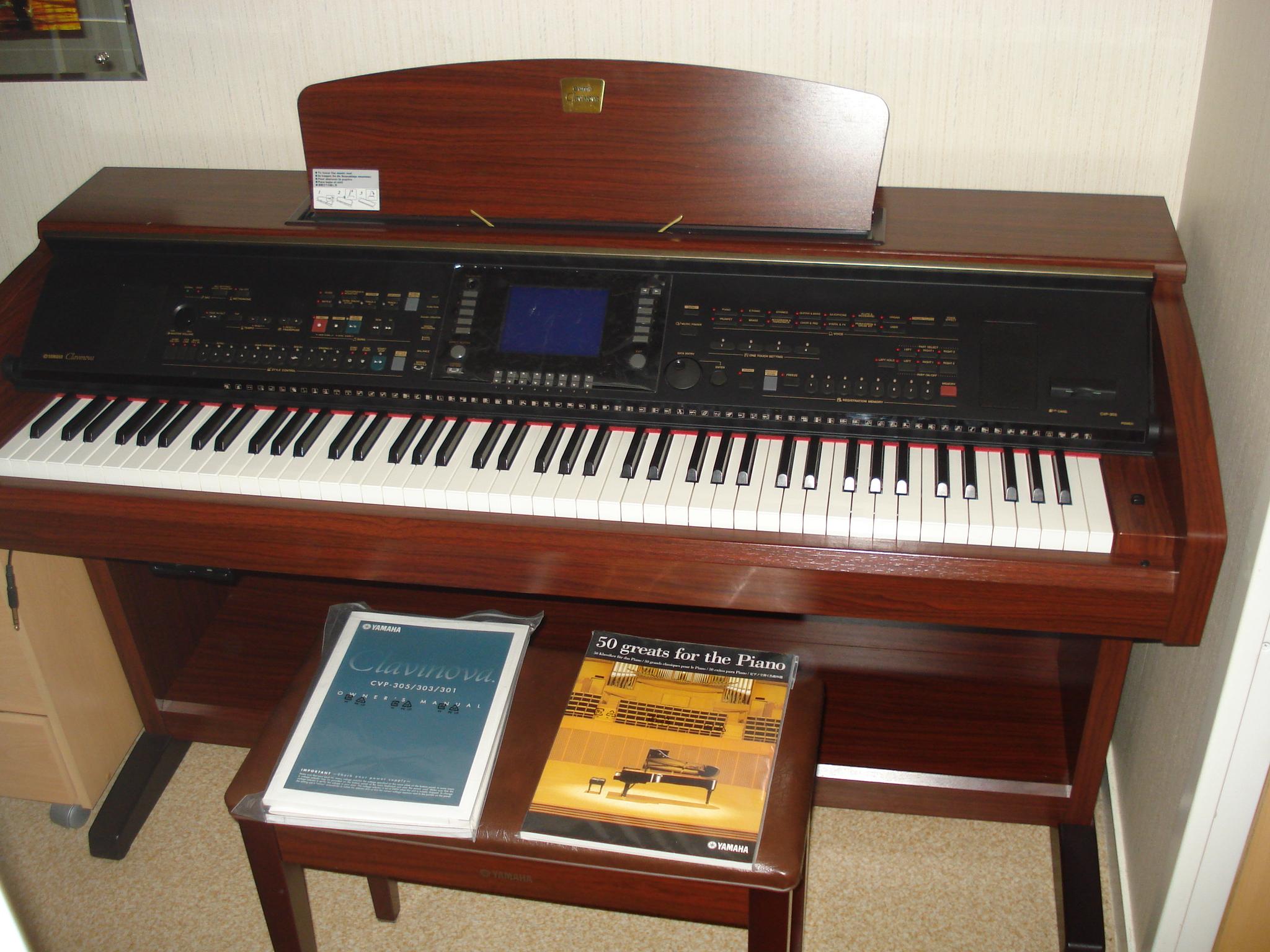 Photo yamaha cvp 303 piano yamaha clavinova cvp 303 for Yamaha cvp 303