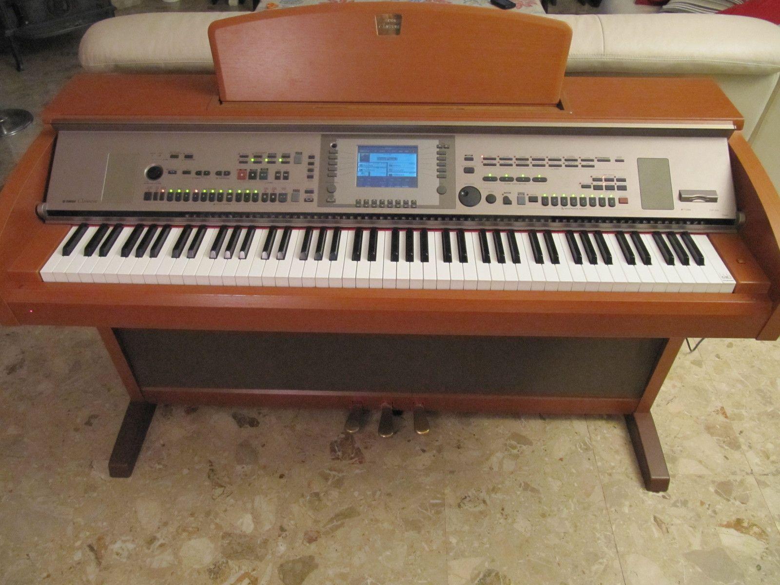Yamaha Cvp 305 Image 193269 Audiofanzine
