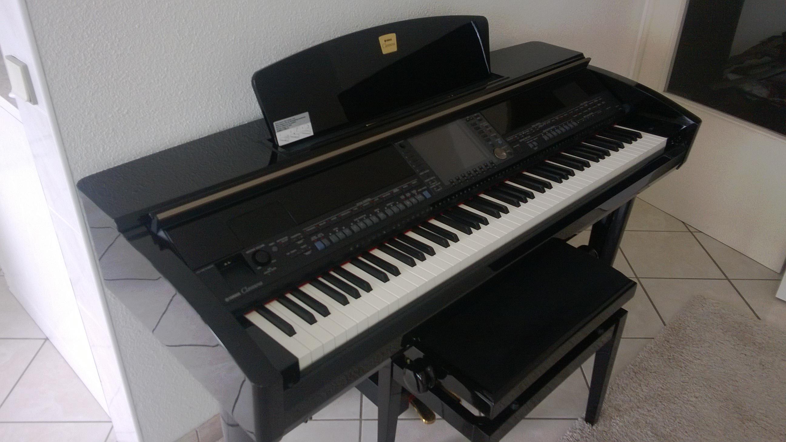 Yamaha cvp 409 image 961229 audiofanzine for Yamaha clavinova cvp 409