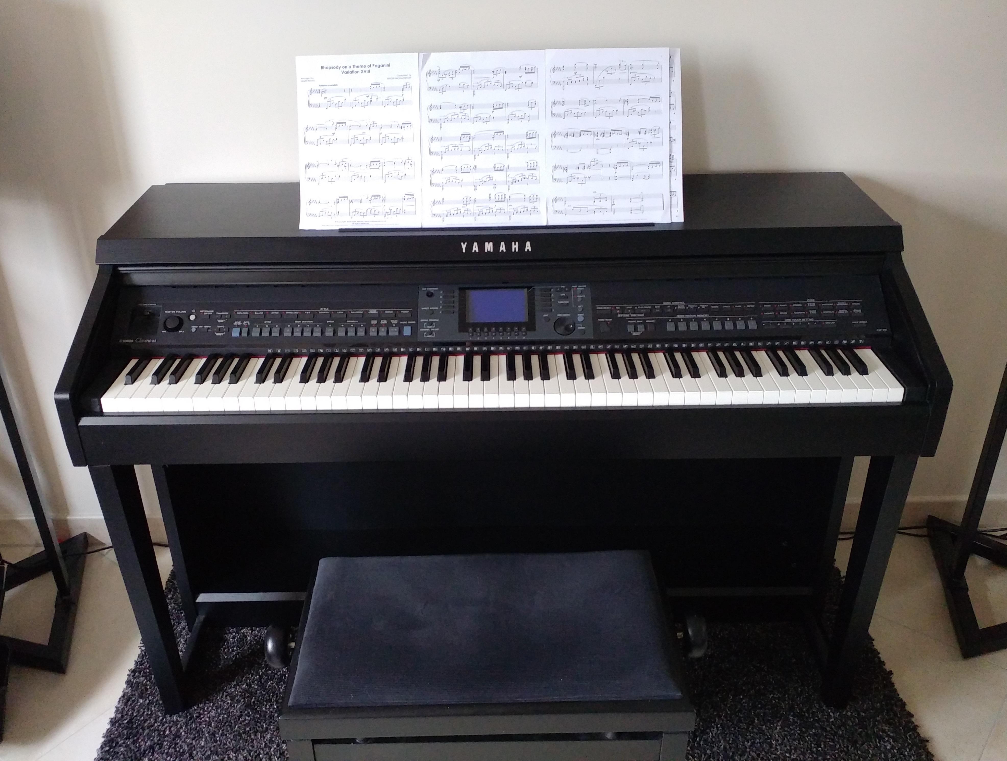 Cvp 601 yamaha cvp 601 audiofanzine for Yamaha clavinova cvp 601