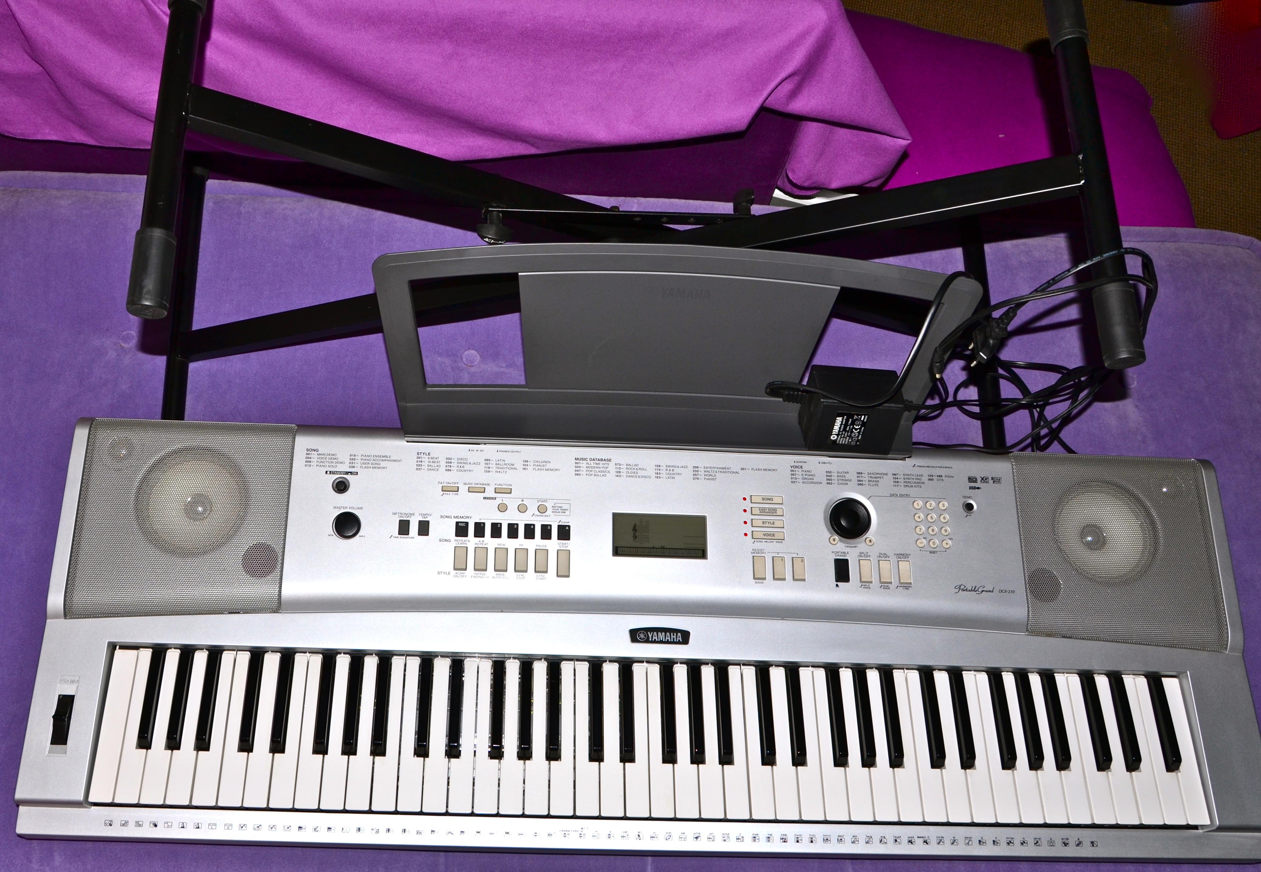 yamaha dgx 230 image 598165 audiofanzine rh en audiofanzine com yamaha dgx-230 manual español yamaha dgx 230 service manual