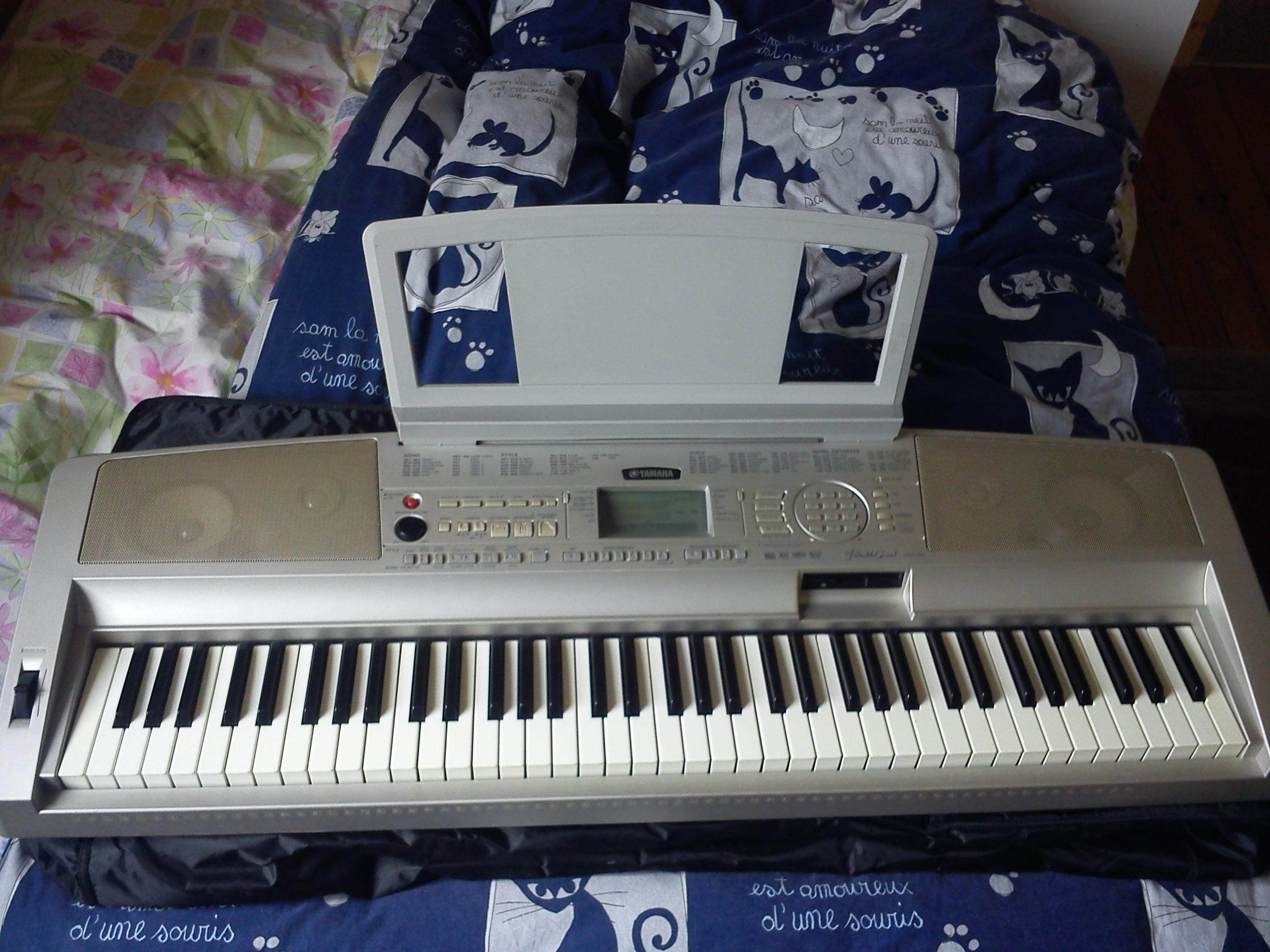 Yamaha dgx 300 image 1674007 audiofanzine for Yamaha dgx 230 manual