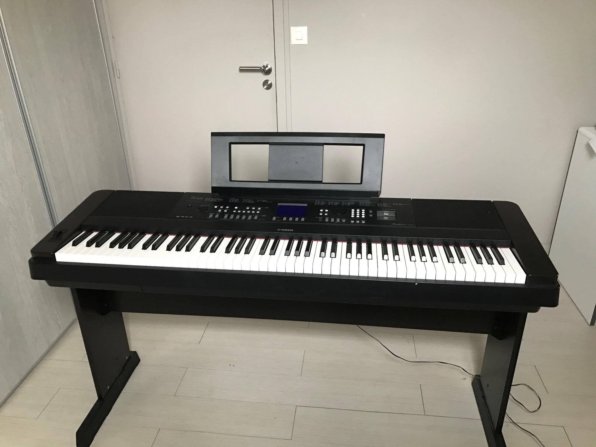 Dgx 650 yamaha dgx 650 audiofanzine for Yamaha 650 piano