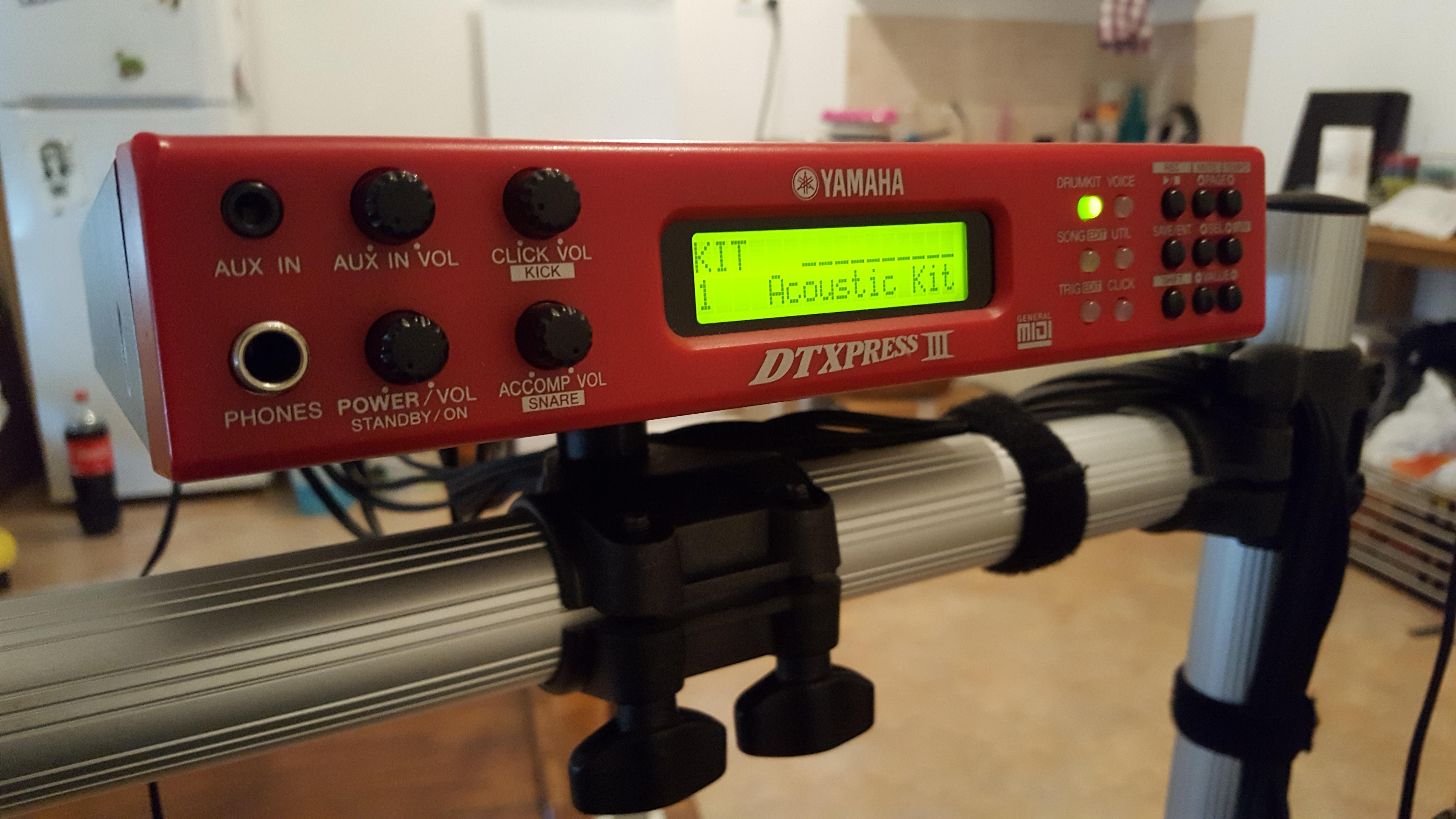 Yamaha dtxpress iii special image 1577426 audiofanzine for Yamaha dtxpress review