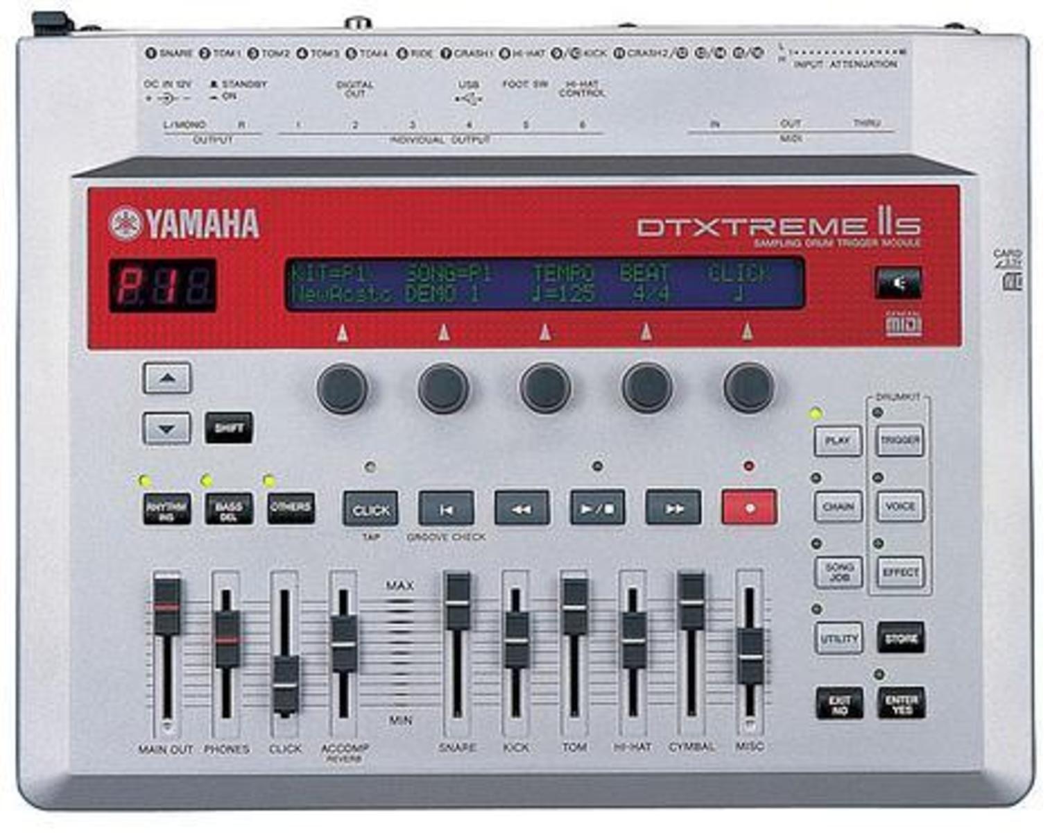 Yamaha dtxtreme ii s image 11470 audiofanzine for Yamaha dtxpress review
