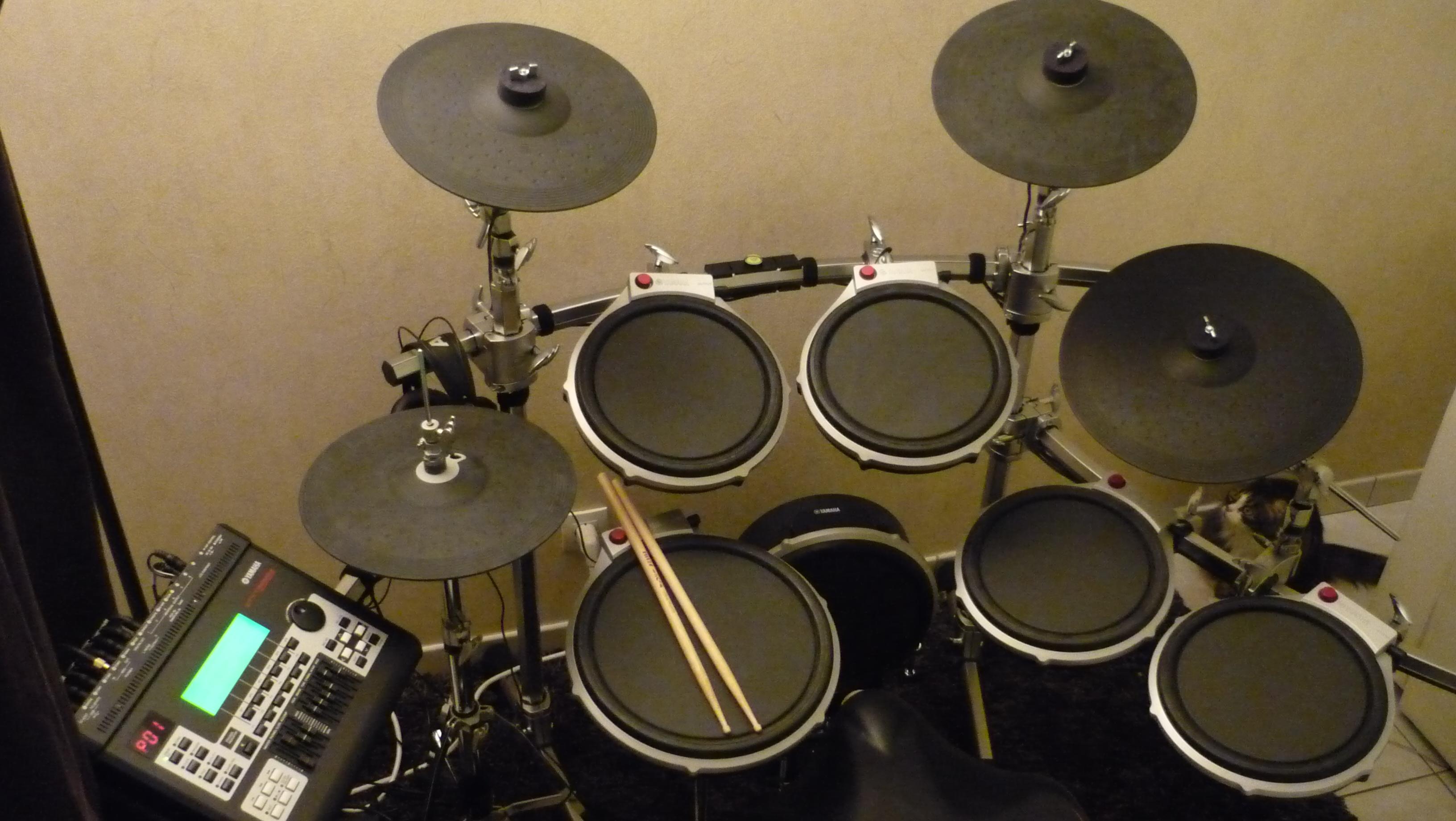 Yamaha Dtxk Electronic Drum Set
