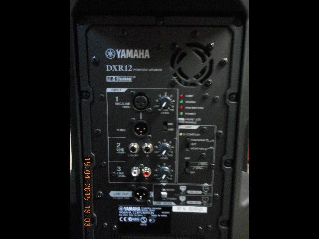yamaha dxr12 image 1086759 audiofanzine. Black Bedroom Furniture Sets. Home Design Ideas