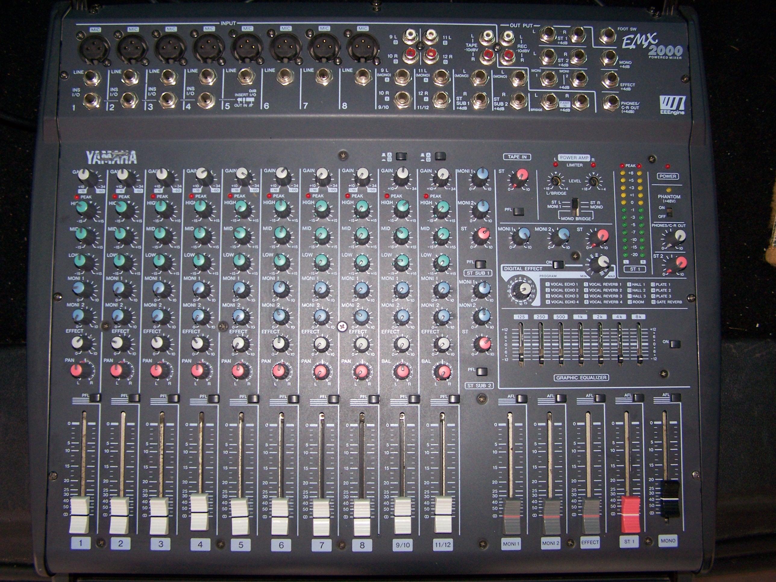 yamaha emx2000 image 354147 audiofanzine
