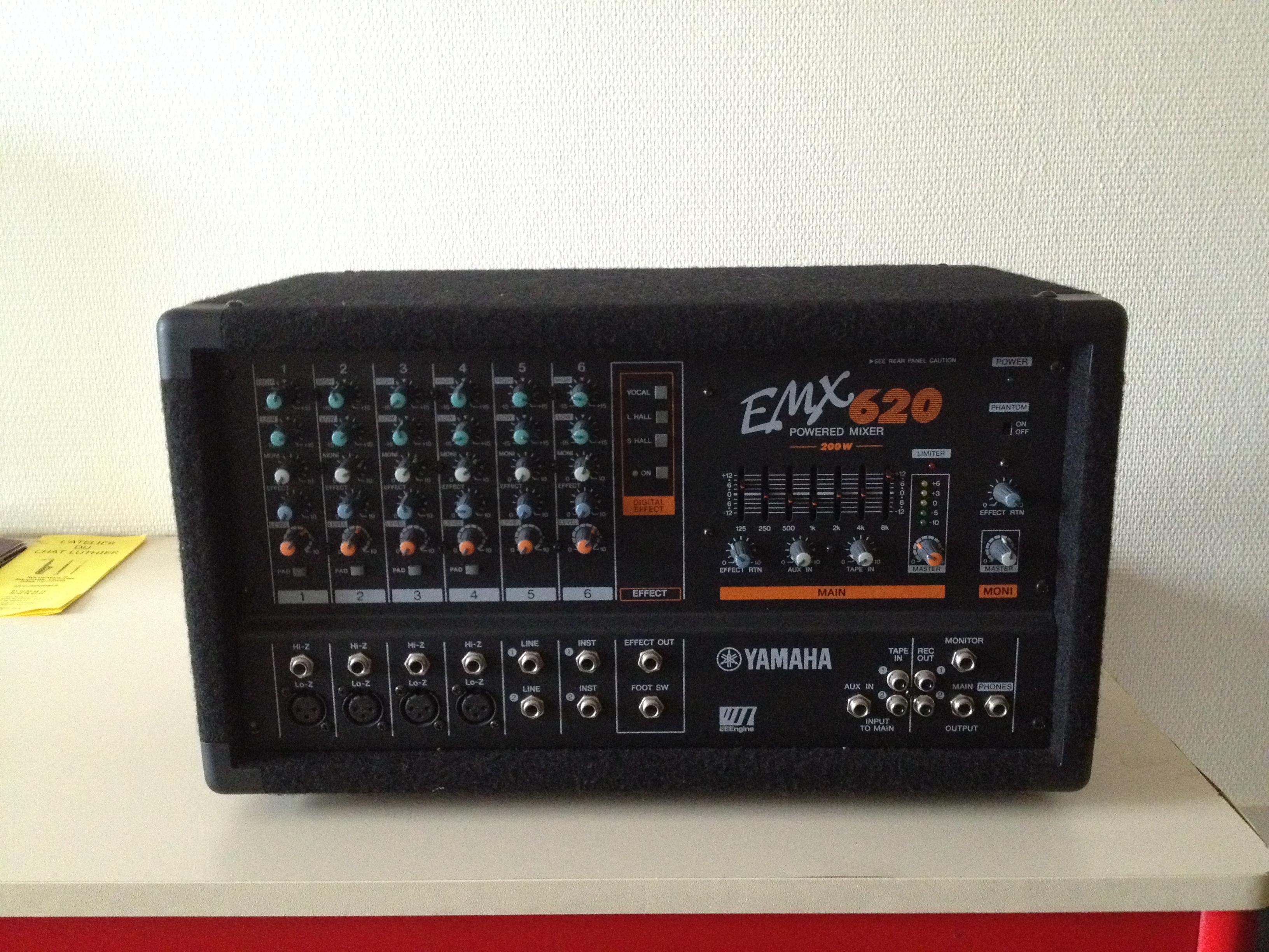 Yamaha Emx Used