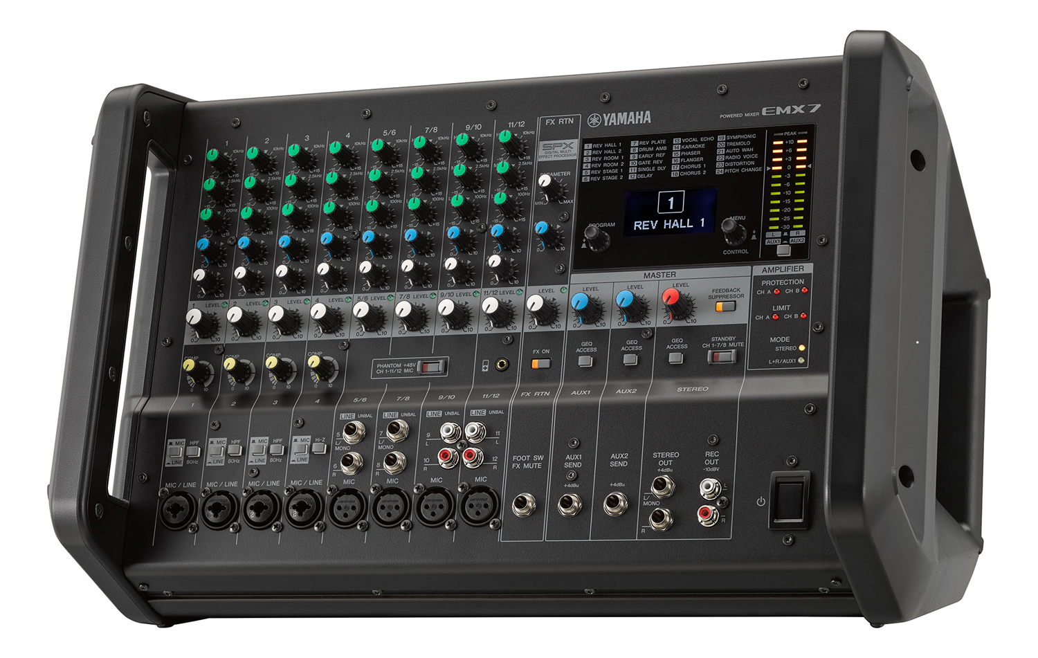yamaha emx312sc powered mixer manual