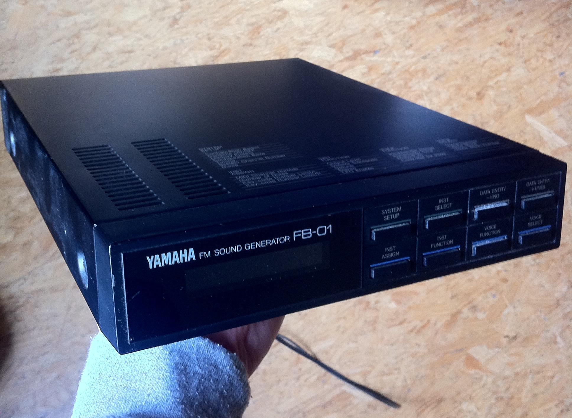 yamaha fb-01 manual pdf