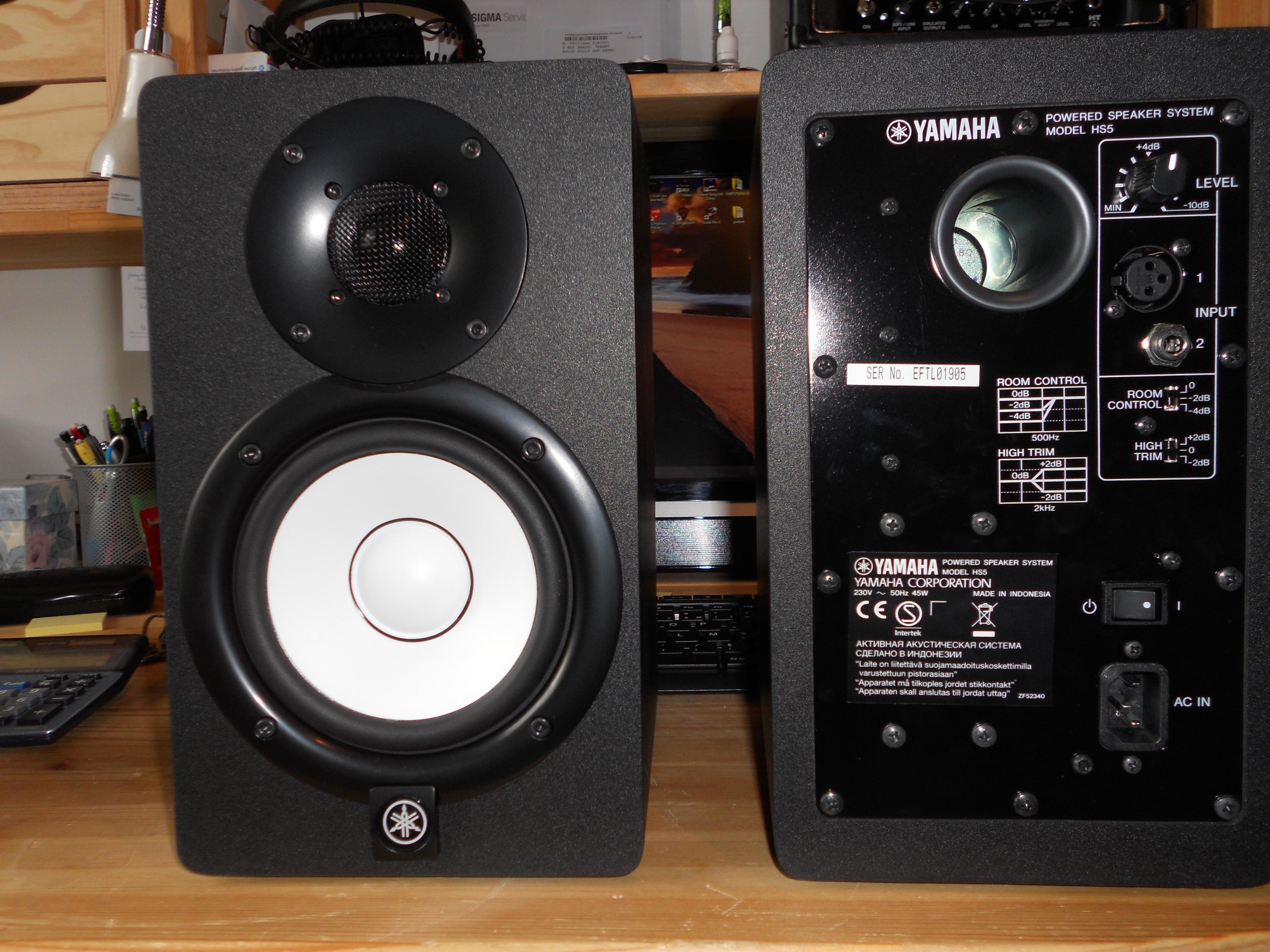 yamaha hs5 image 817568 audiofanzine