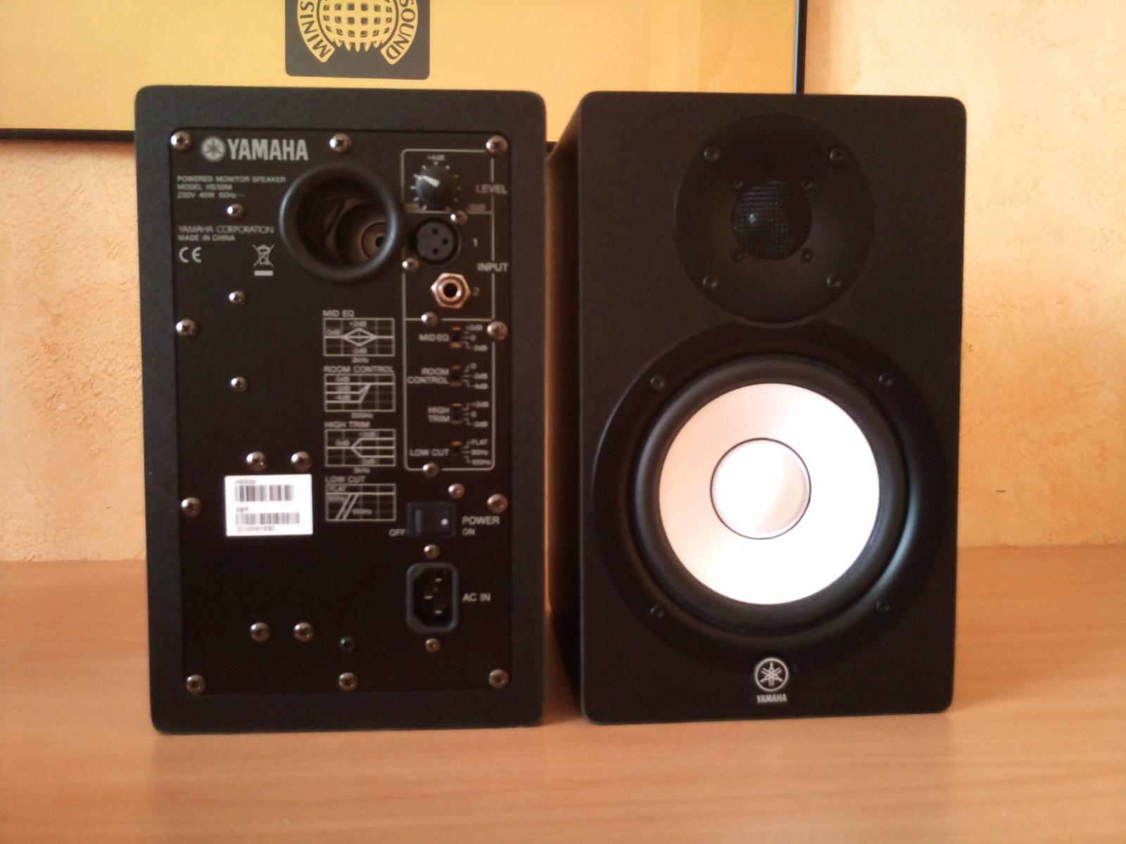 Yamaha hs50m image 1178601 audiofanzine for Yamaha hs50m review