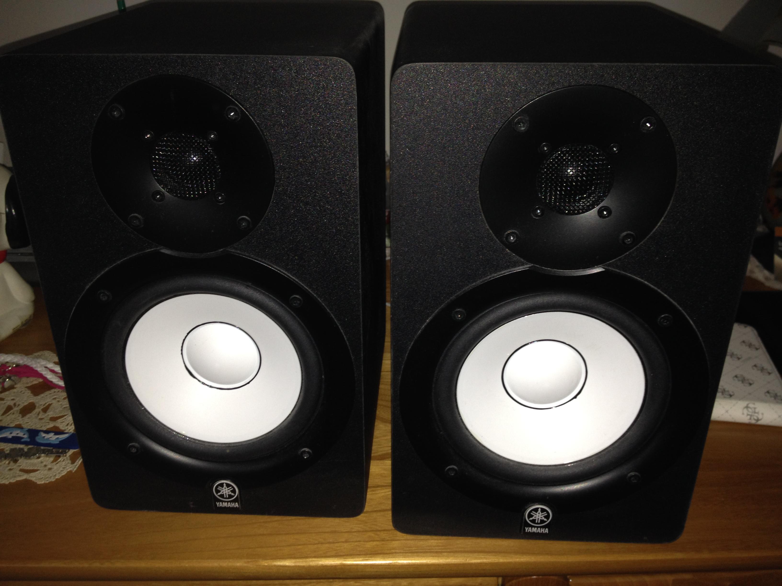 Hs50m yamaha hs50m audiofanzine for Yamaha hs50m review